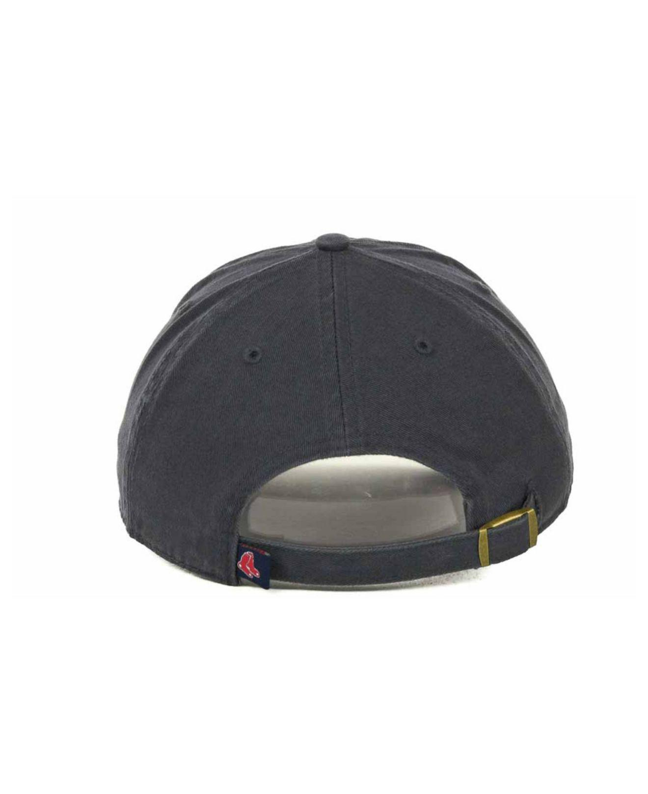 87d612d600518 ... best 47 brand blue boston red sox clean up hat for men lyst. view  fullscreen