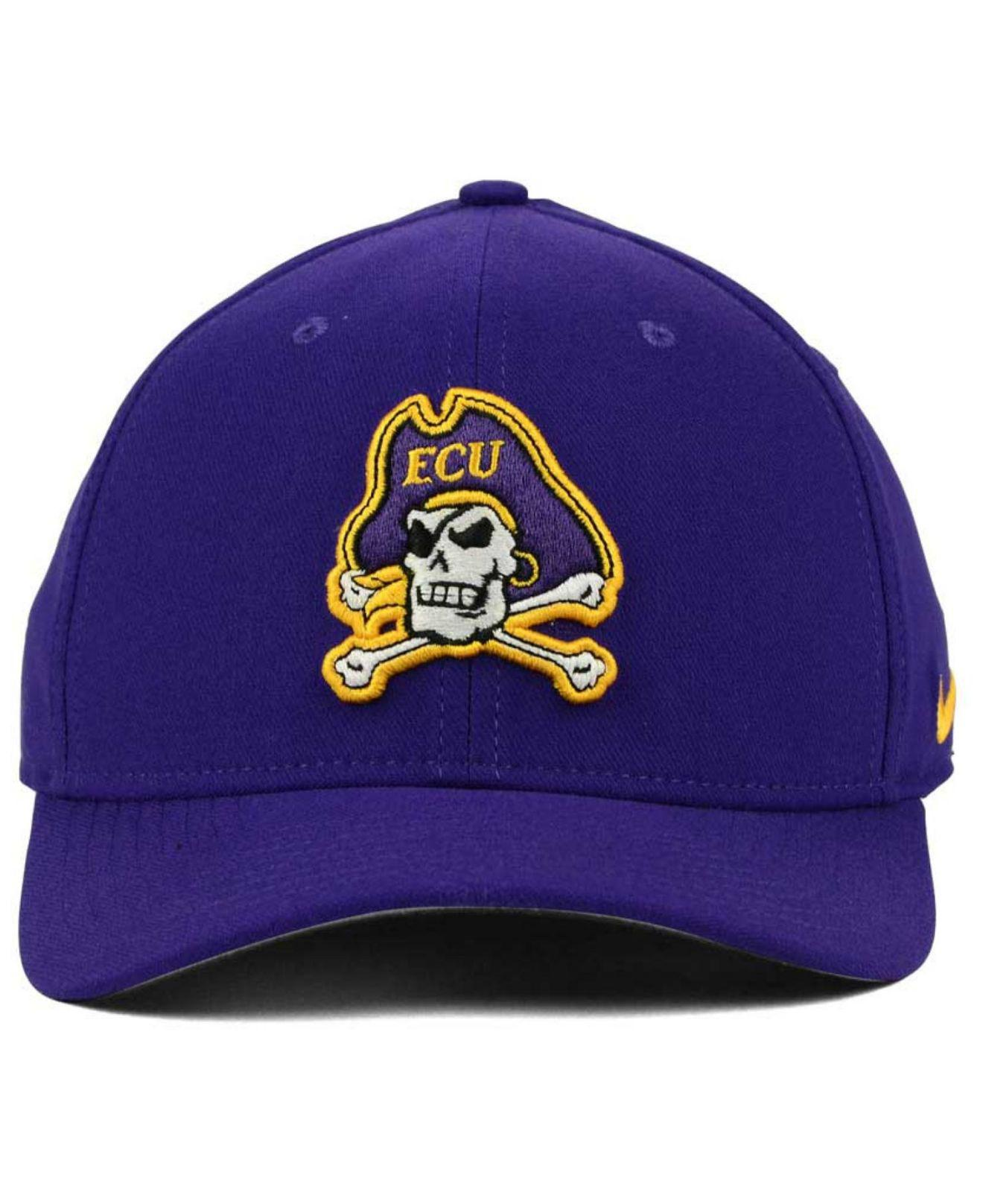 new styles 84bc1 16915 promo code for lyst nike east carolina pirates classic swoosh cap in blue  for men 4cedc