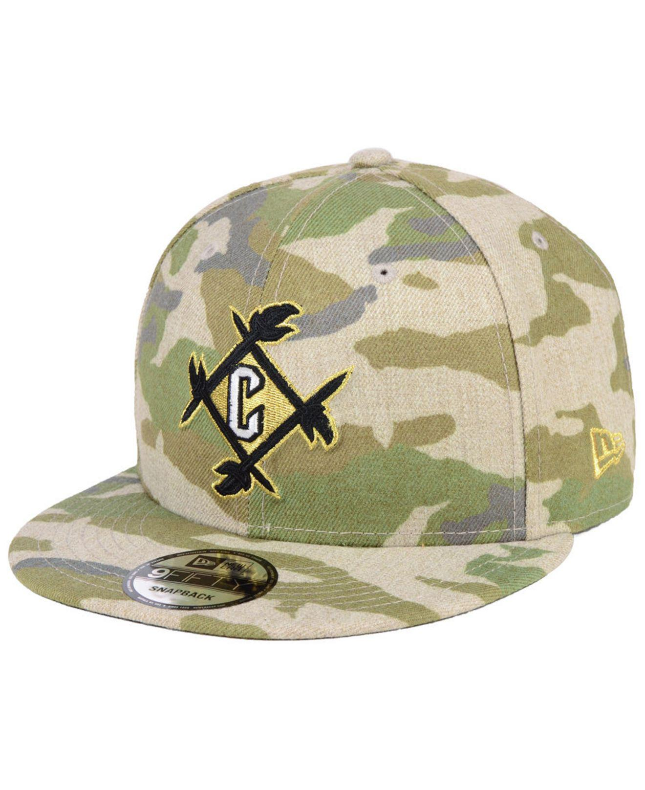 best loved 13804 40996 Lyst - KTZ Cleveland Cavaliers Combo Camo 9fifty Snapback Cap in ...
