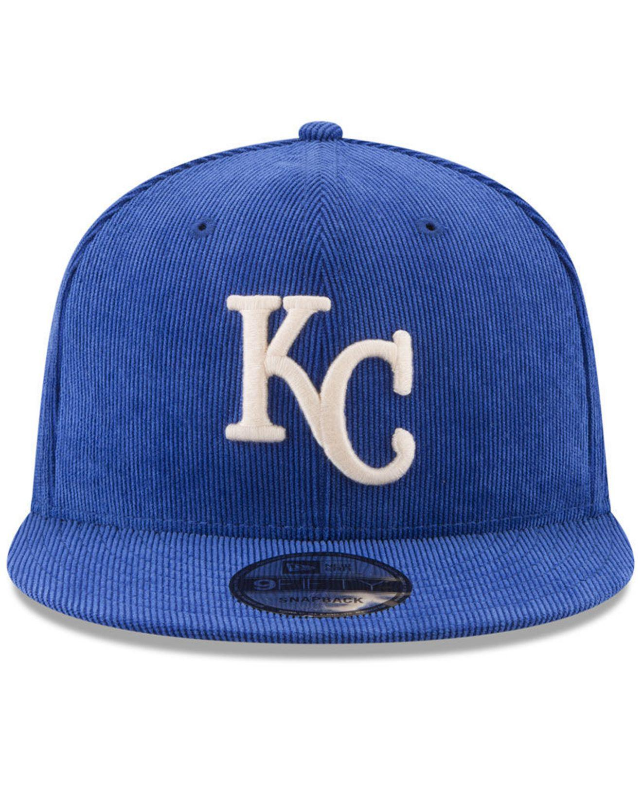 online store 09e5c e5ce4 Lyst - KTZ All Cooperstown Corduroy 9fifty Snapback Cap in Blue for Men