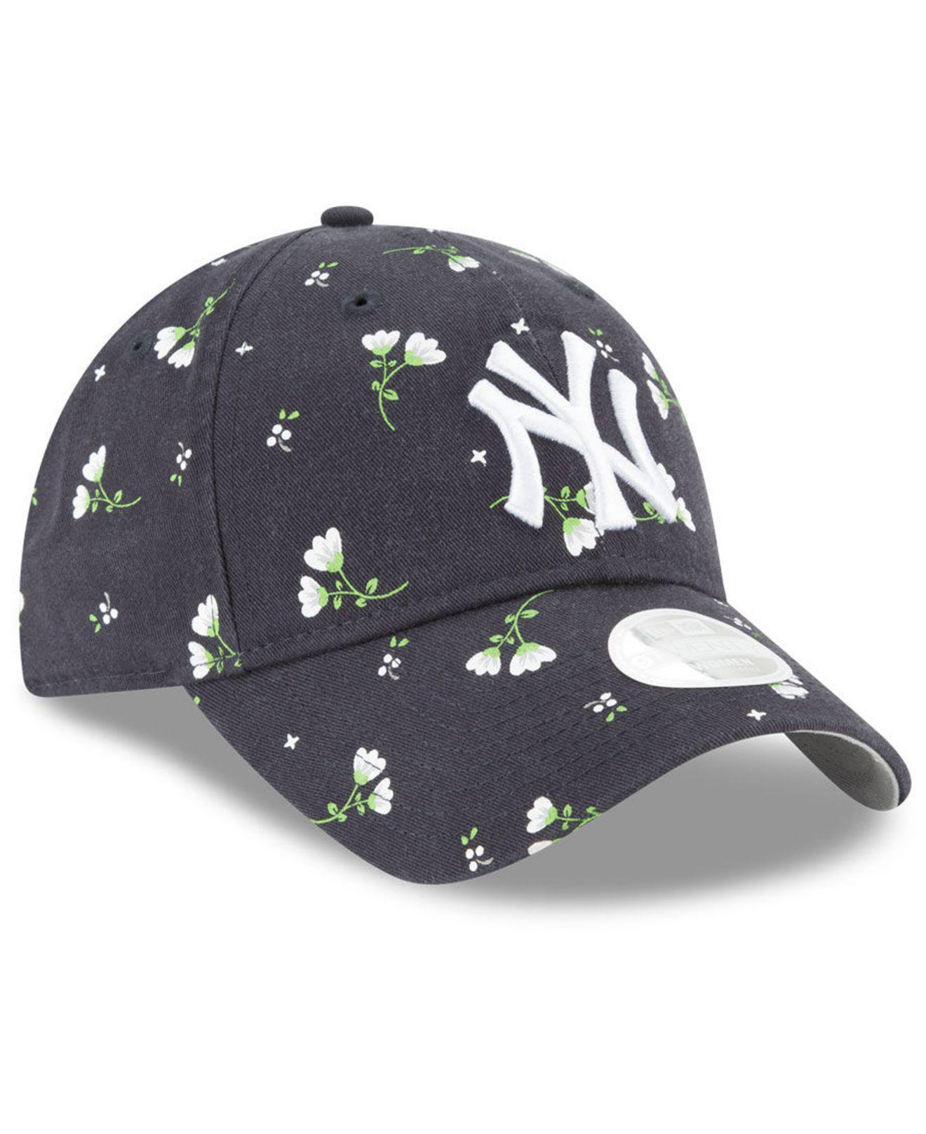 new style 17c4d 5e270 ... denmark lyst ktz new york yankees blossom 9twenty cap in blue 4f8d4  7389e
