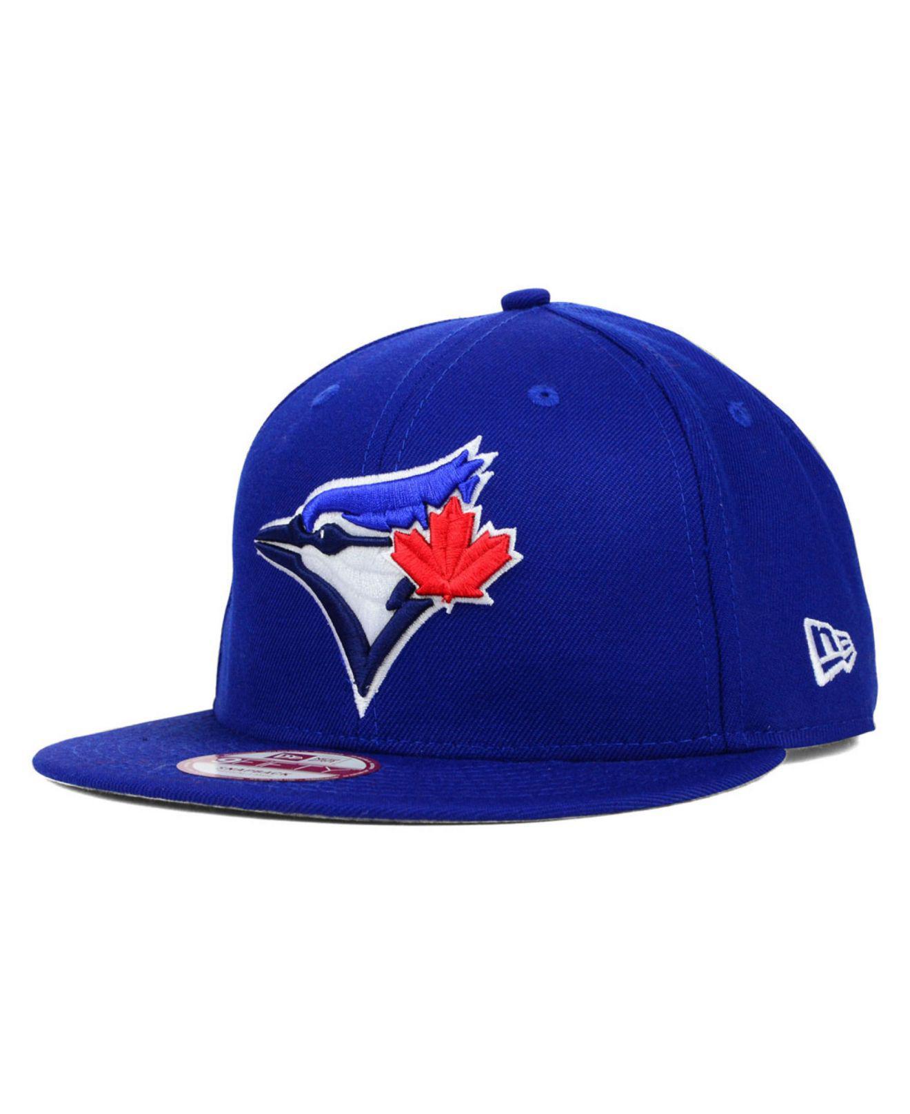 9682bf815b9 Lyst - KTZ Toronto Blue Jays 2 Tone Link 9fifty Snapback Cap in Blue ...