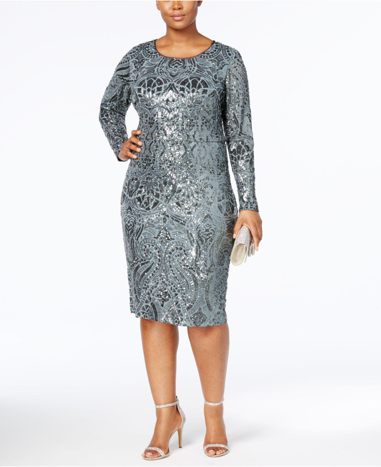 c0da03c30a3 Gallery. Previously sold at  Macy s · Women s Sequin Dresses ...