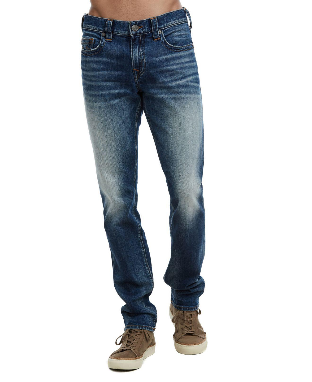 a947007eb Lyst - True Religion Geno No Flap Jeans in Blue for Men