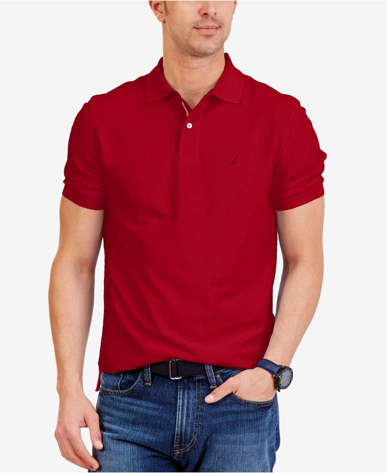 Lyst Nautica Classic Fit Performance Deck Polo Shirt For Men
