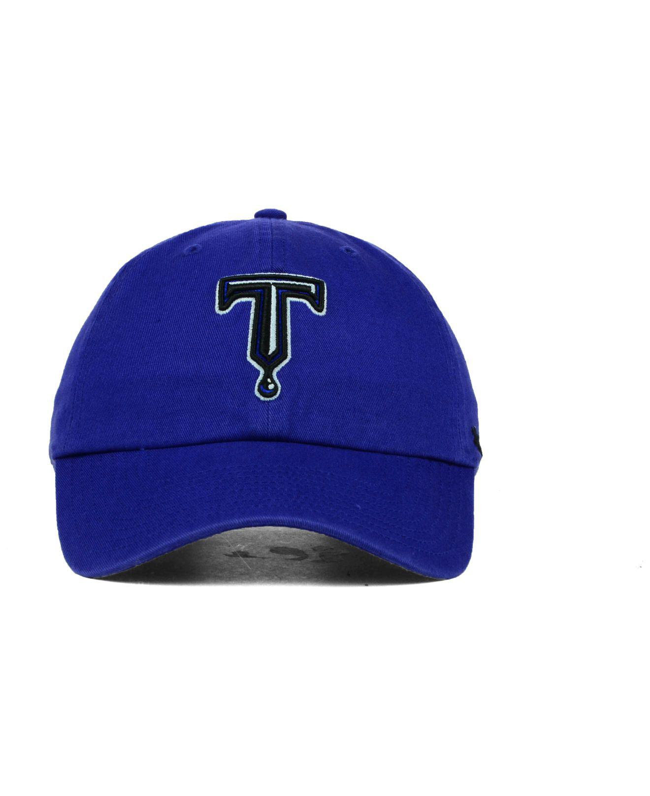 check out 56643 f1198 Lyst - 47 Brand Tulsa Drillers Clean Up Cap in Blue for Men