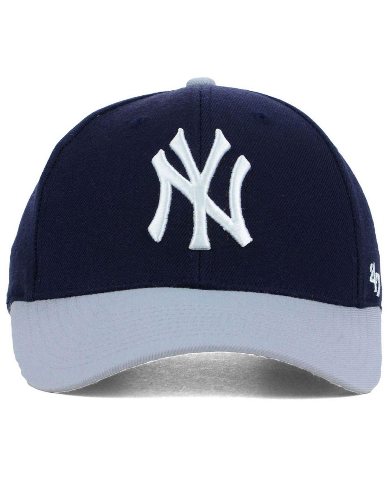 new product e1941 23888 ... coupon code for lyst 47 brand new york yankees mvp curved cap in blue  for men