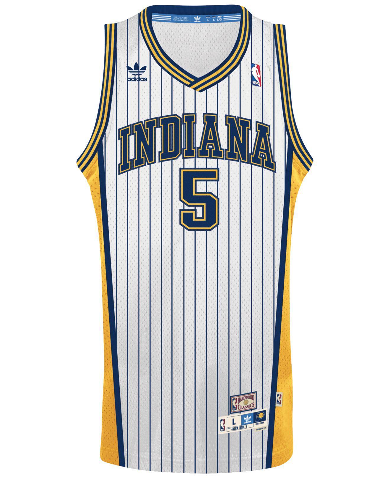 3cee410f9ba3 Lyst - adidas Originals Men S Jalen Rose Indiana Pacers Swingman ...