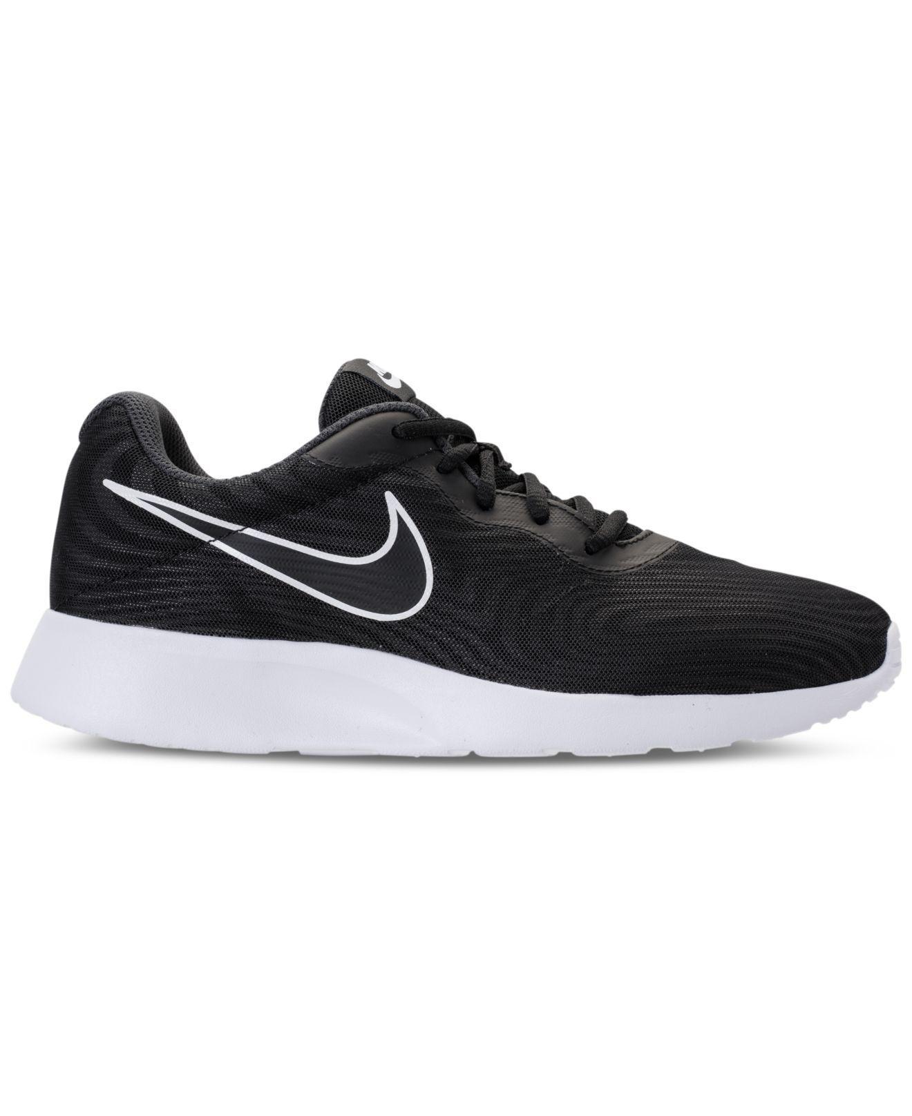 Nike Men's Tanjun Premium Casual Sneakers from Finish Line EjIJr