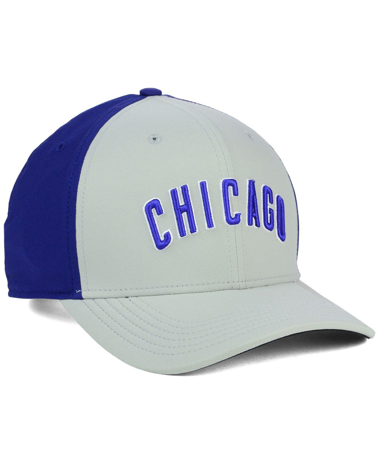 Lyst - Nike Chicago Cubs Vapor Classic Adjustable Cap in Gray for Men 925a71cfc47