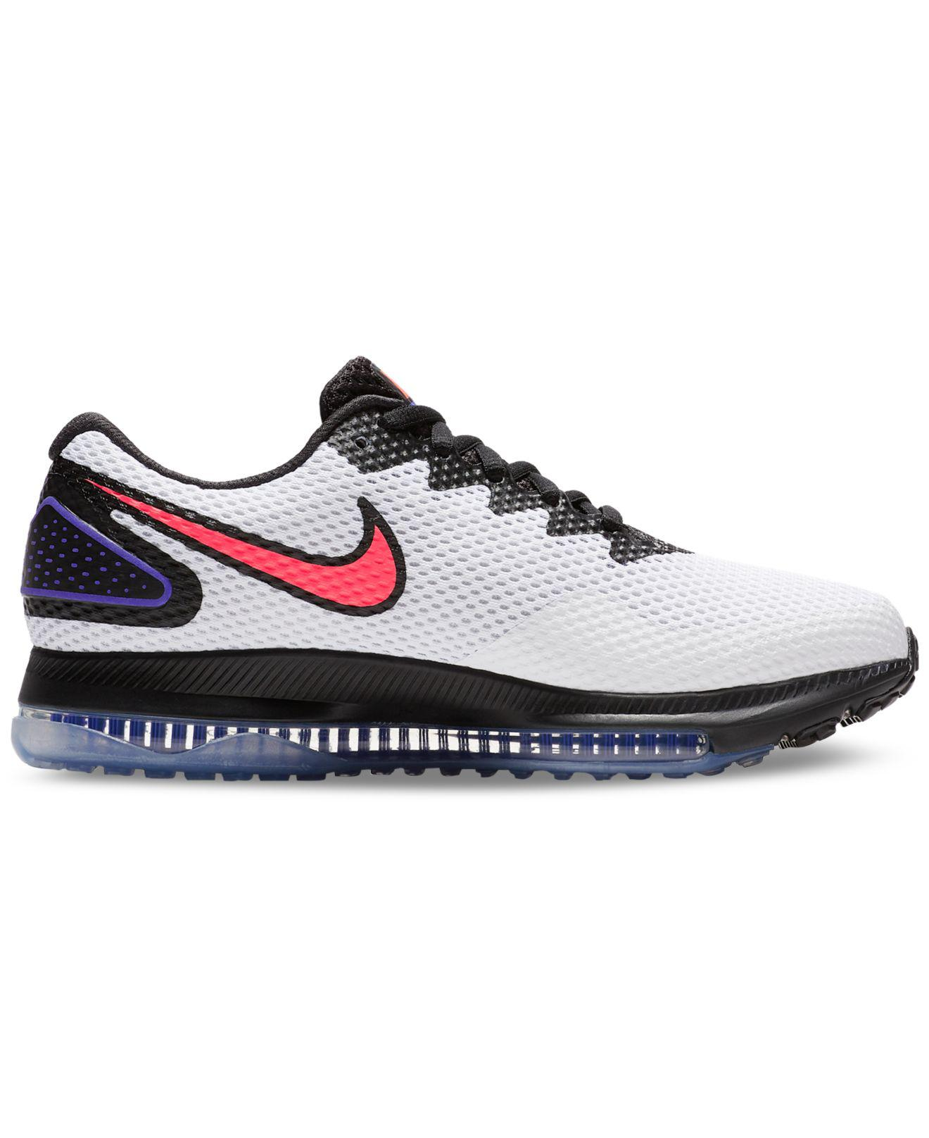 the latest 24f11 ba3d0 Nike Zoom All Out Low 2 Running Sneakers From Finish Line in Black ...