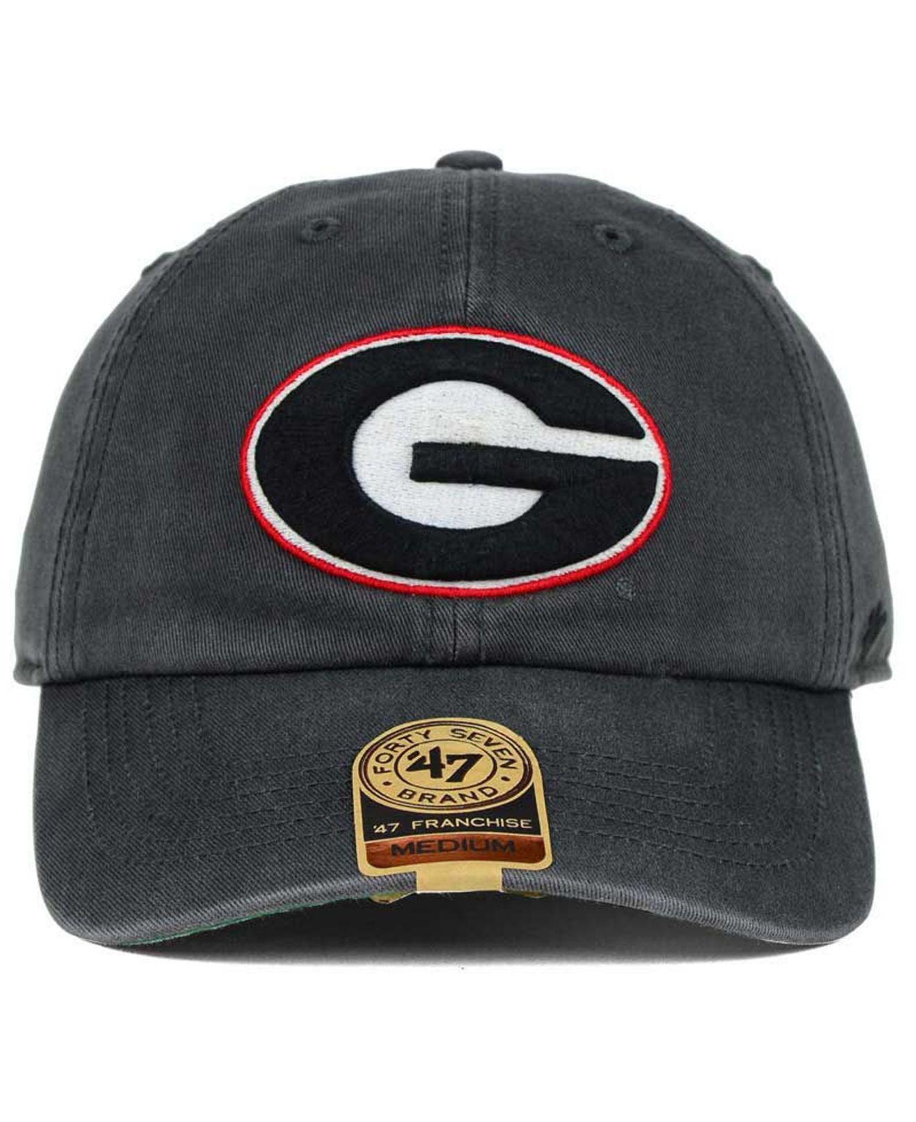 4e2e2495af9 Lyst - 47 Brand Georgia Bulldogs Franchise Cap for Men