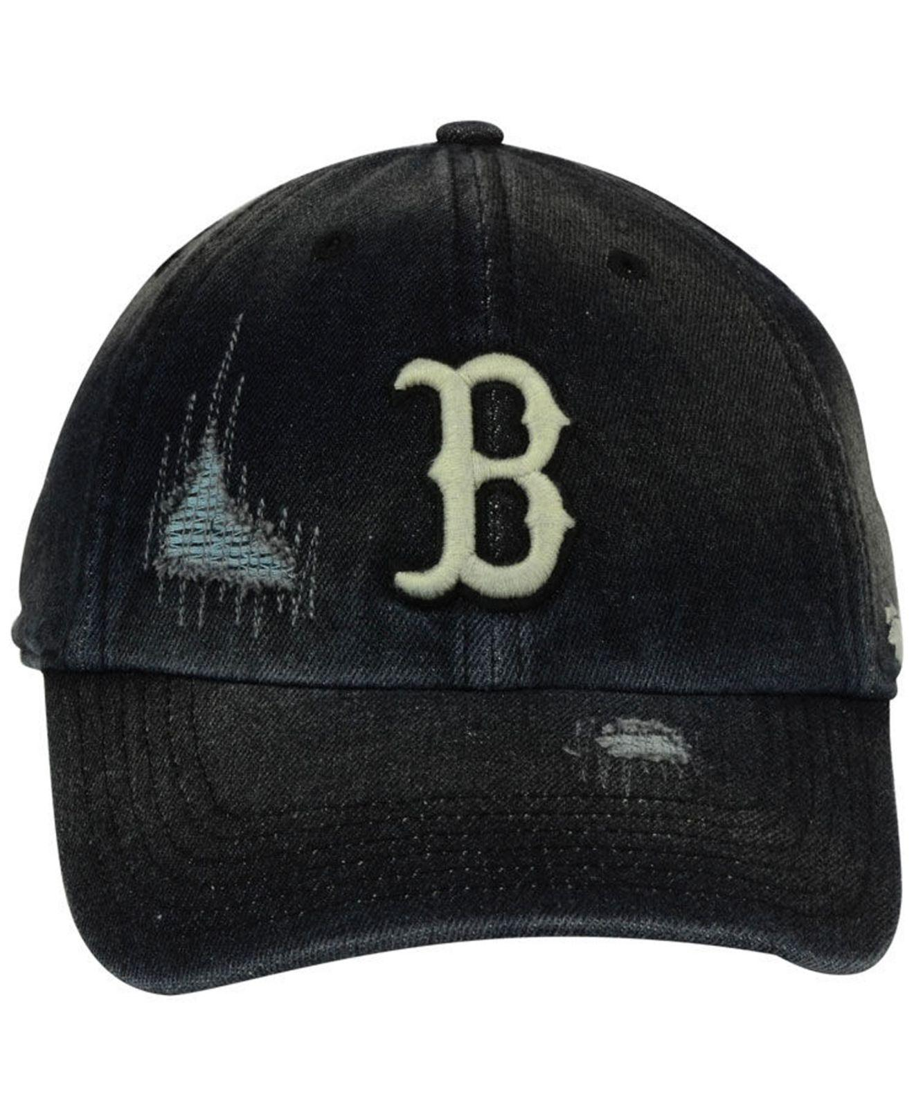 a30832ce discount code for lyst 47 brand boston red sox dark horse clean up cap in  black