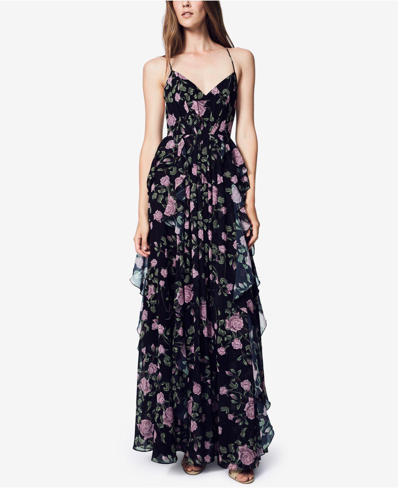 Alexis miranda strapless maxi dress