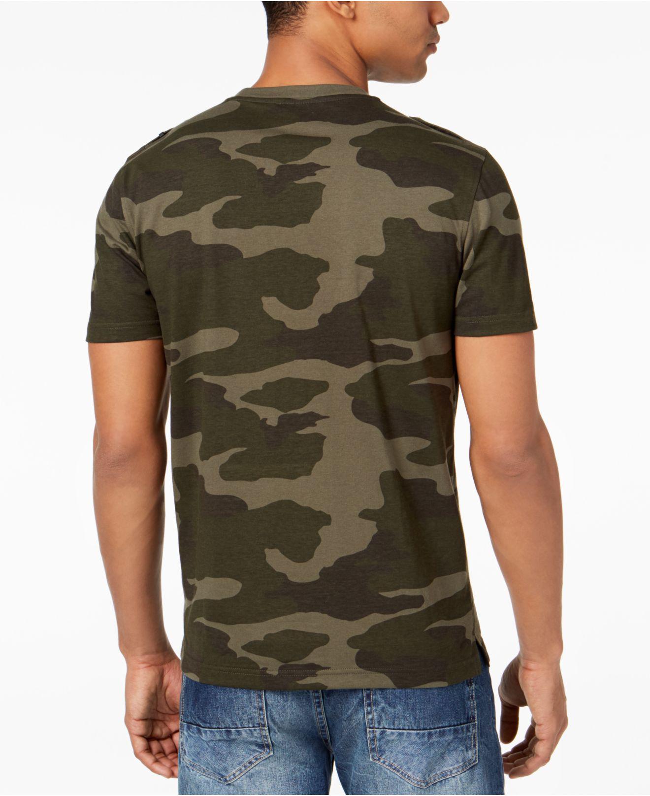 9d3dbcb11d0f Lyst - Sean John Zip-pocket Flight T-shirt
