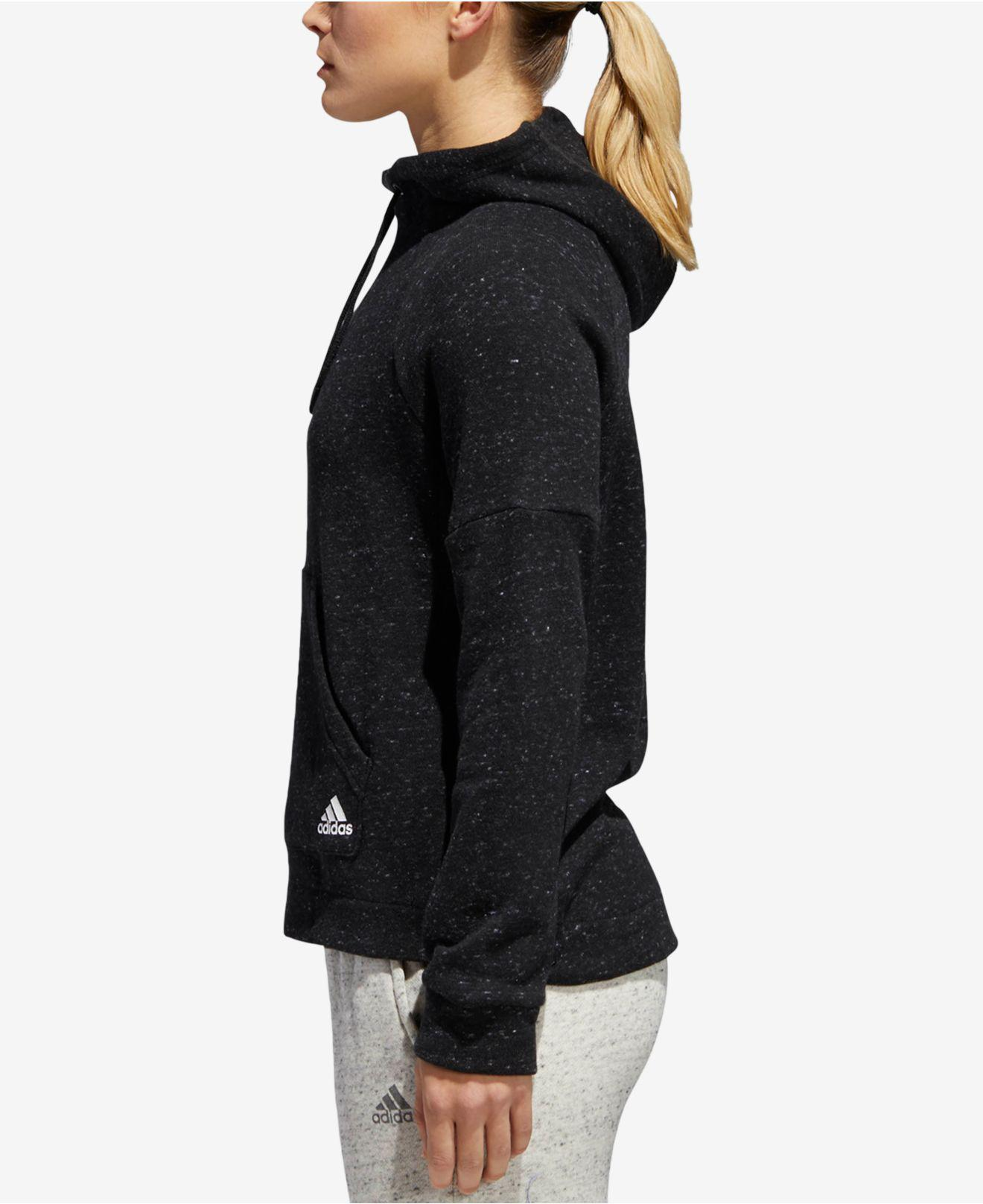 aa67d330a Adidas - Black Sport2street Cotton French Terry Hoodie - Lyst. View  fullscreen