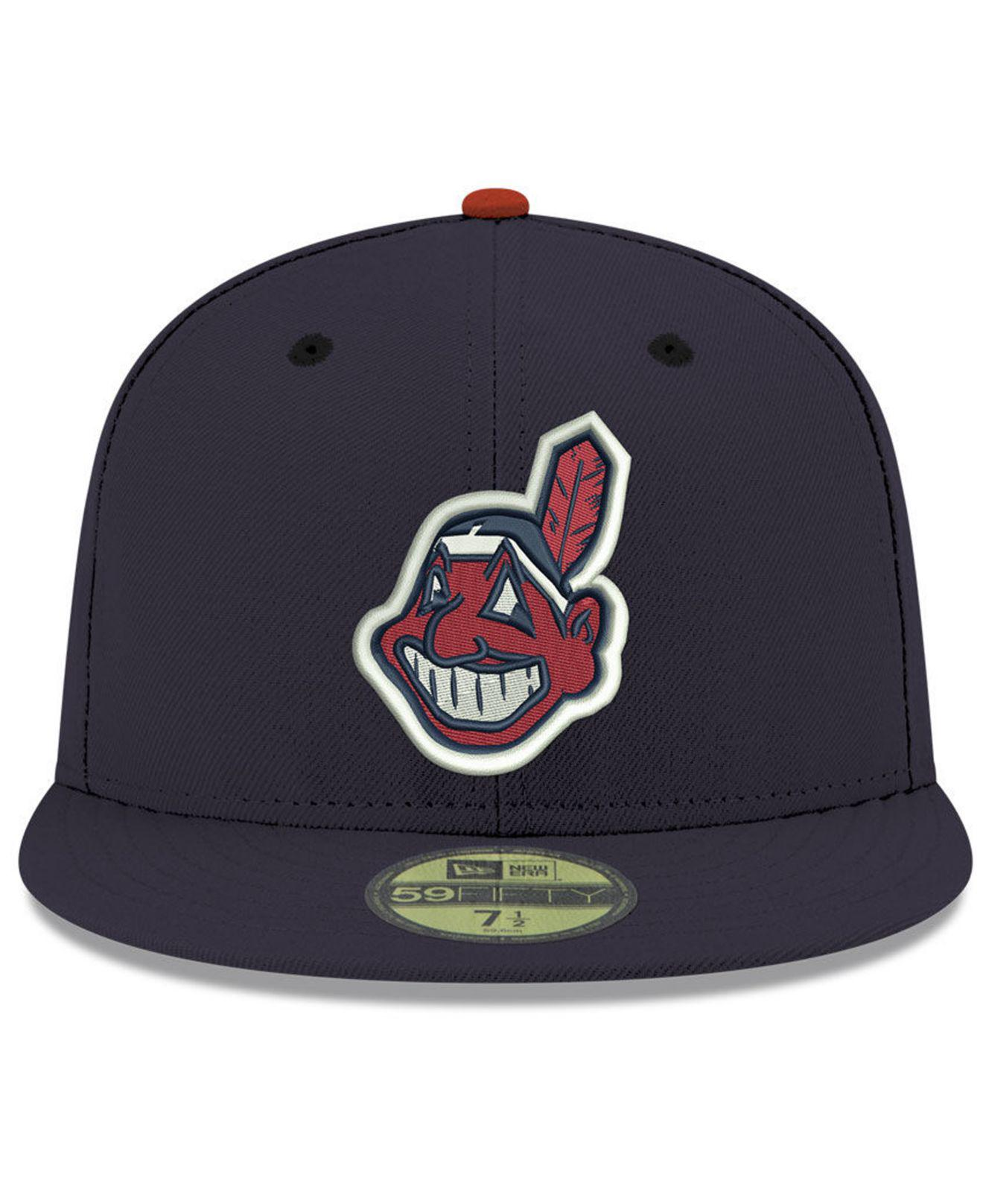 watch 13ca9 5ac48 ... best ktz. mens blue cleveland indians retro classic 59fifty fitted cap  6167a b4753