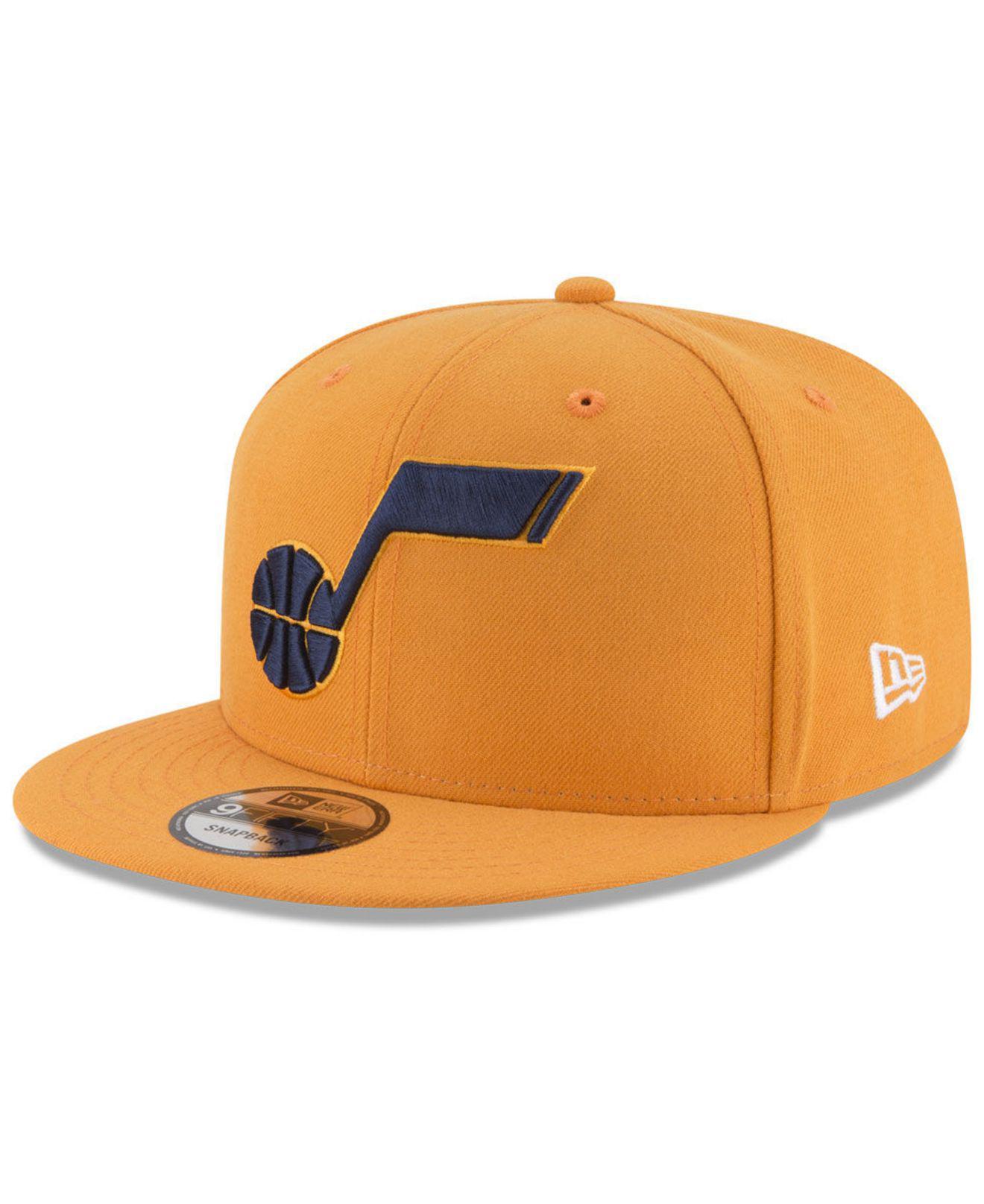 promo code caa88 23ac5 KTZ Utah Jazz Statement Jersey Hook 9fifty Snapback Cap for Men - Lyst