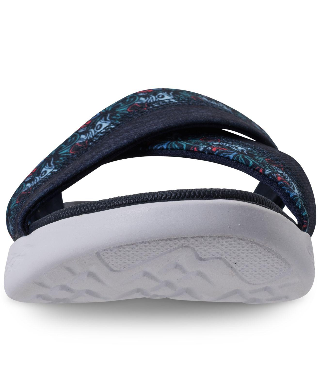 6202fffc783d Lyst - Skechers On The Go 600 - Monarch Athletic Sandals From Finish ...