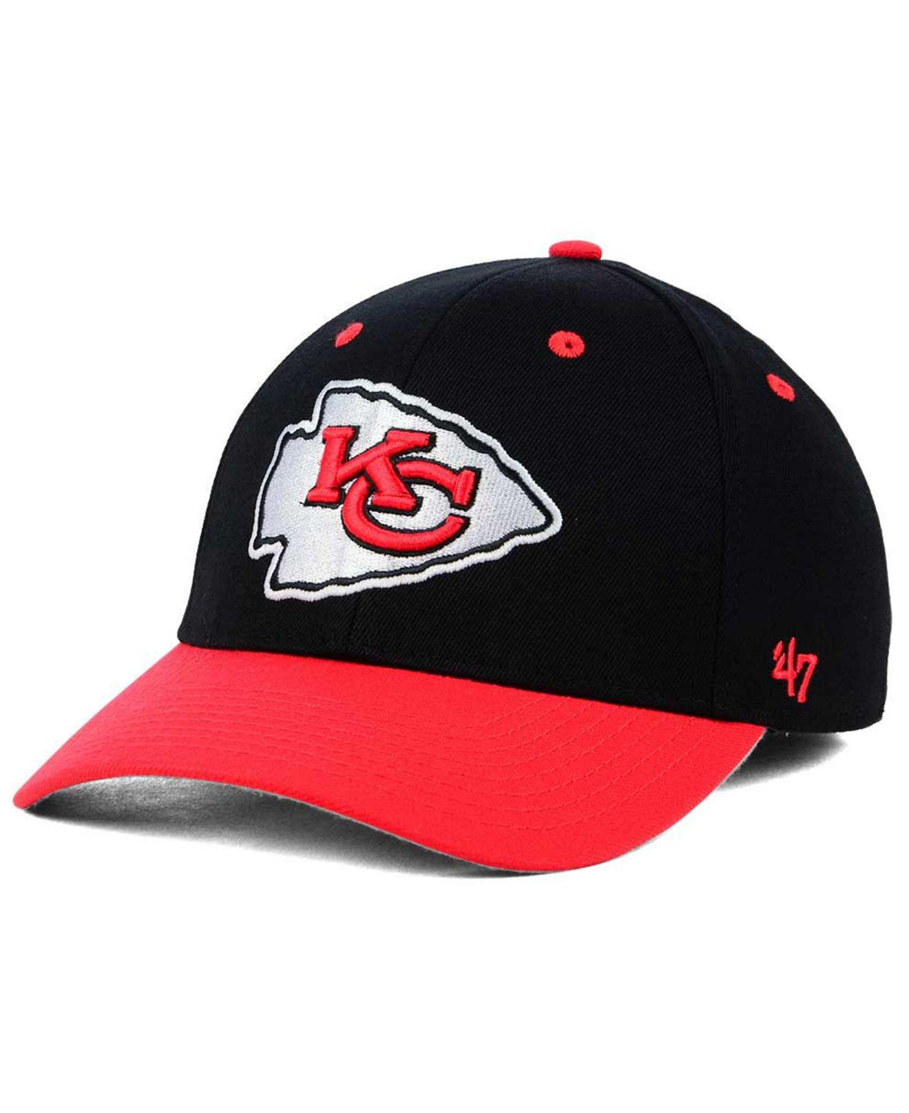 lowest price 65330 f8bc1 Lyst - 47 Brand Kickoff 2-tone Contender Cap in Red for Men