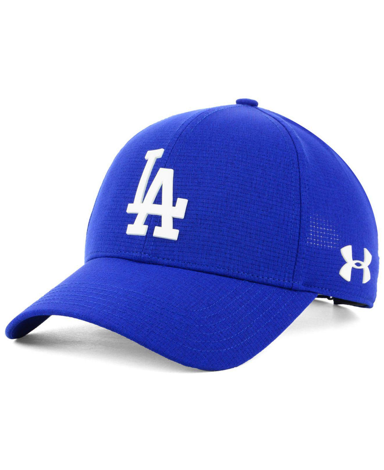 Lyst - Under Armour Los Angeles Dodgers Driver Cap in Blue for Men bd271afb26b4