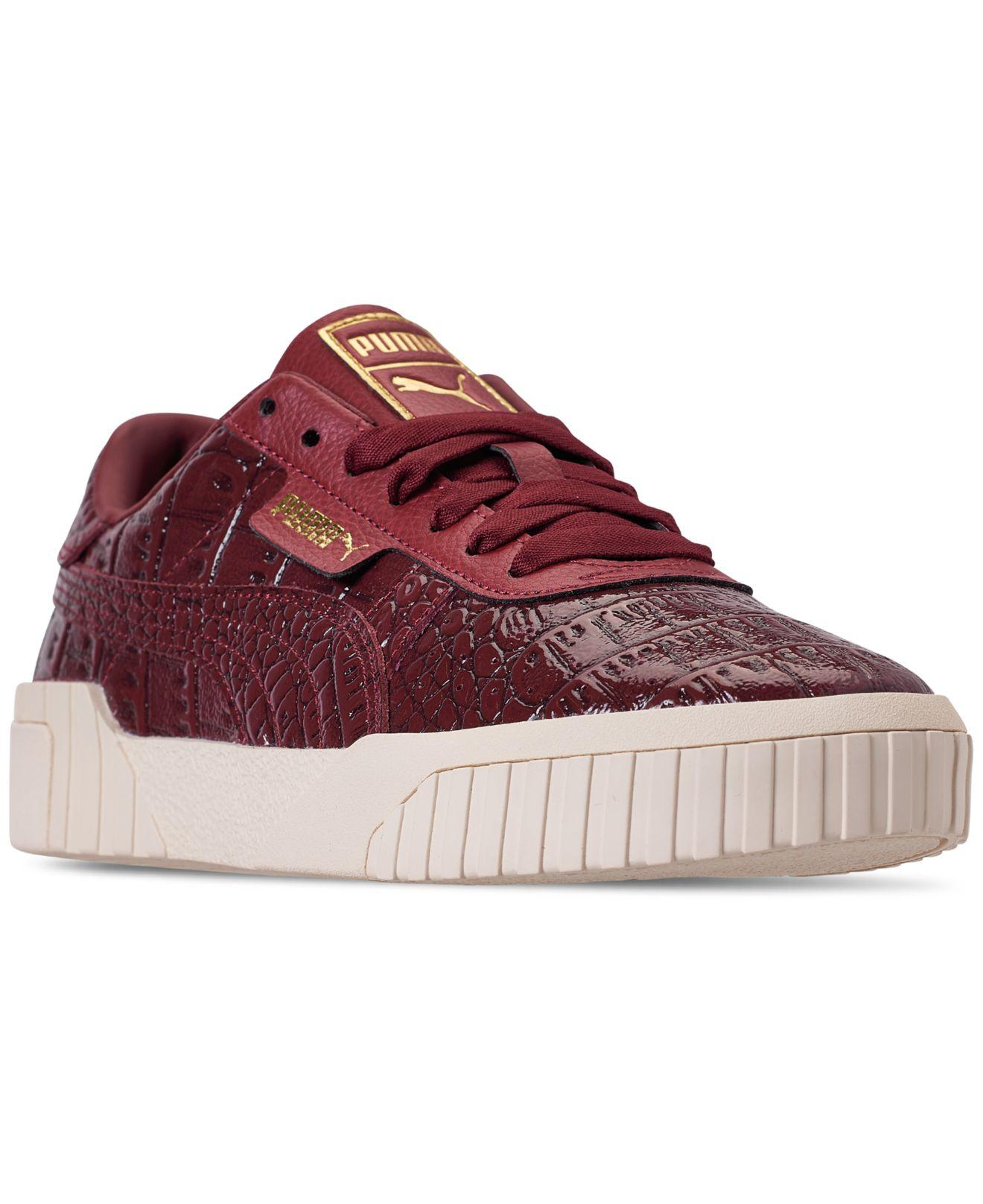 Lyst - PUMA California Croc Casual Sneakers From Finish Line in Red 791b93e8a
