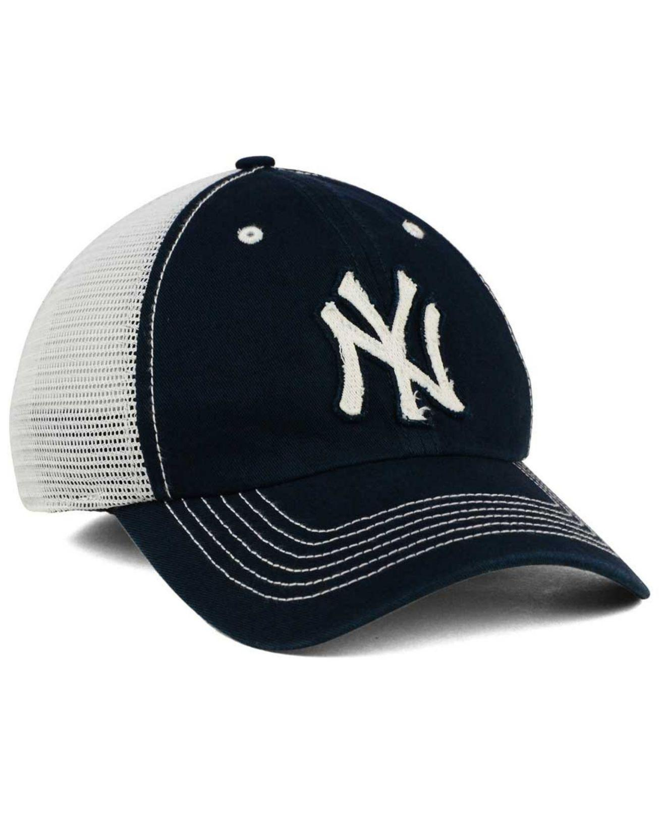 62aae38f1eead ... sweden lyst 47 brand new york yankees taylor closer cap in blue for men  2c989 79fde