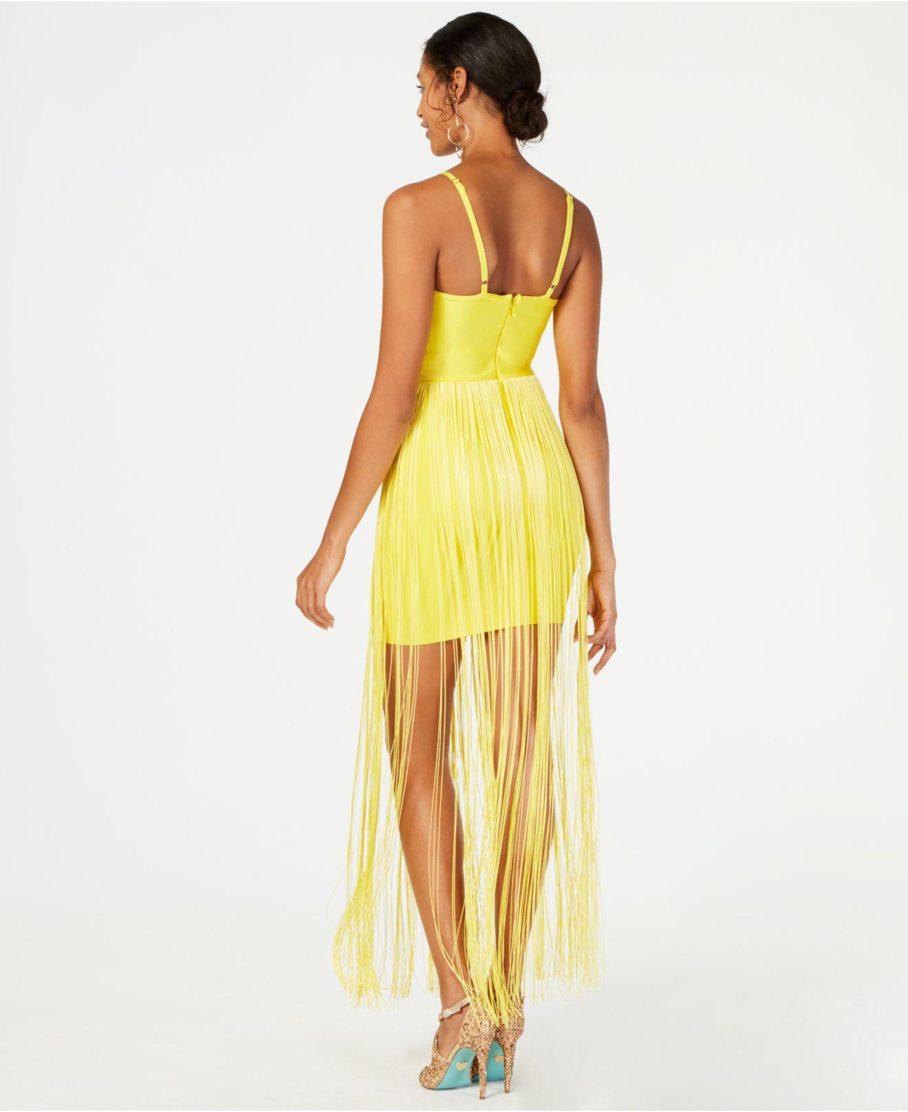 e3a0473ef47 Marciano Fringe Bandage Dress
