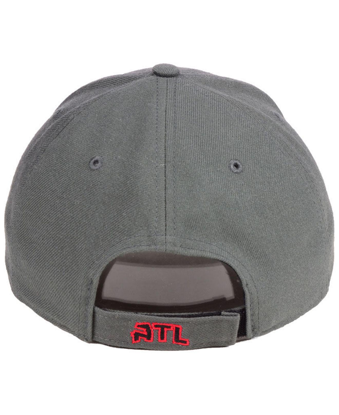 promo code 387f4 b4226 ... discount code for 47 brand gray atlanta hawks charcoal pop mvp cap for men  lyst.