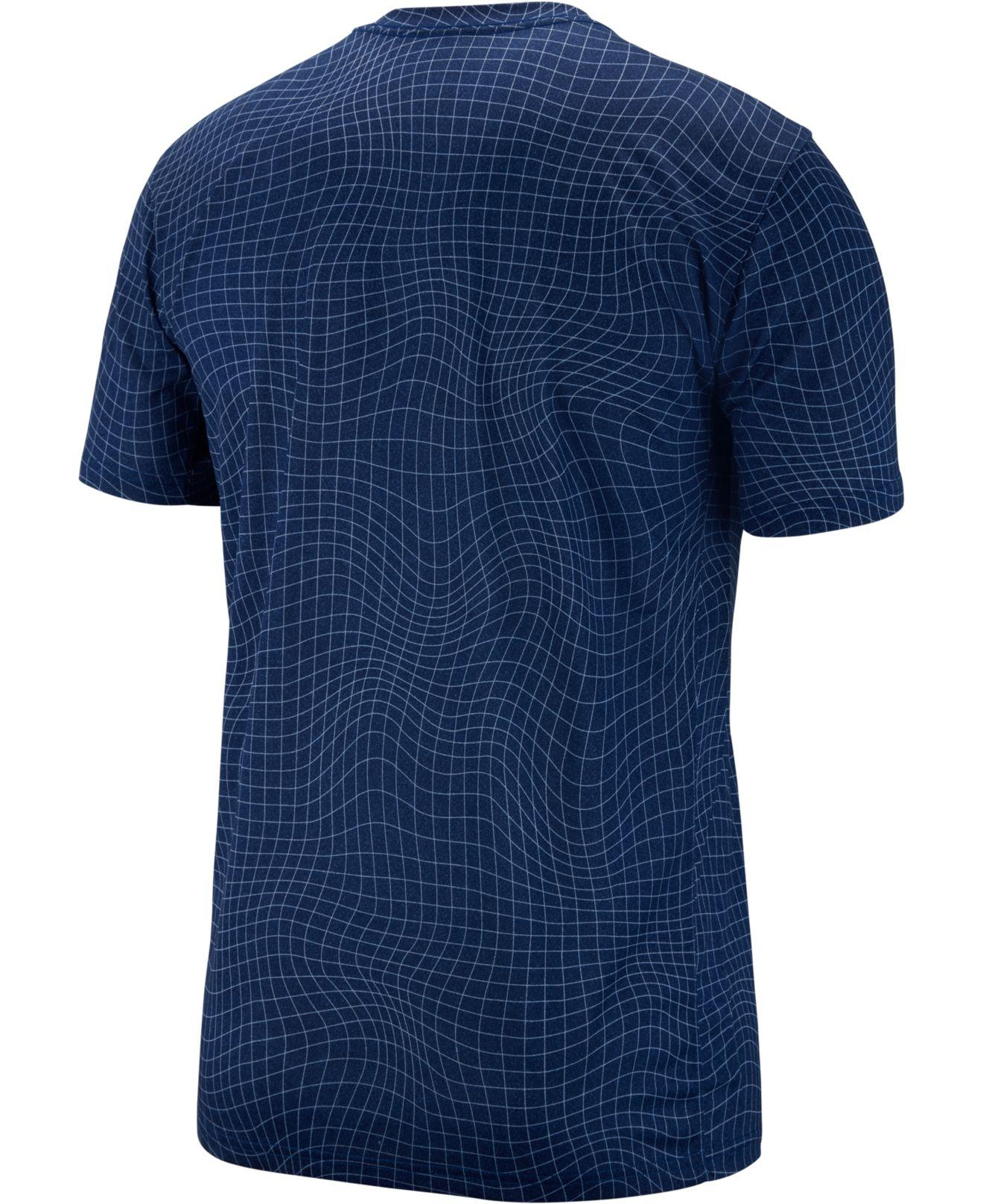 73adf62c8 Lyst - Nike Legend Dri-fit Training T-shirt in Blue for Men