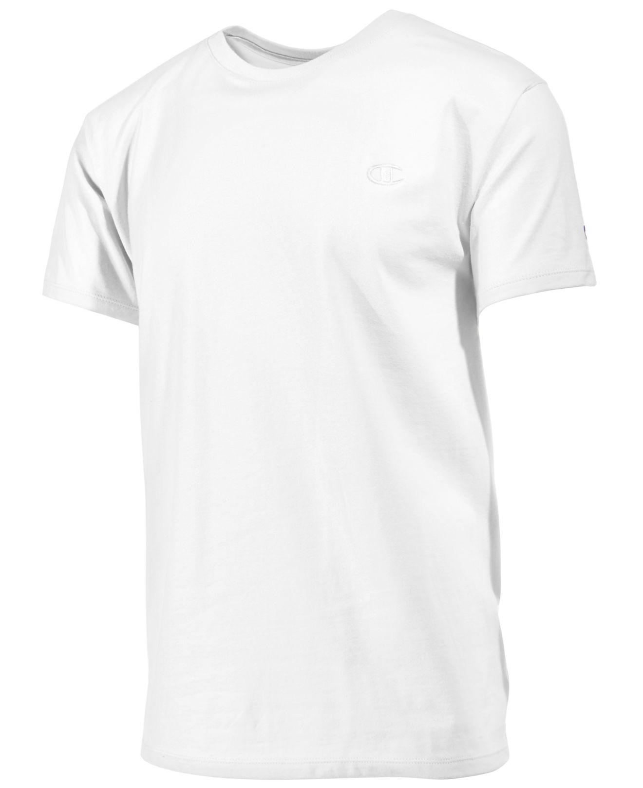 a237a852 Lyst - Champion Men's Cotton Jersey T-shirt in White for Men