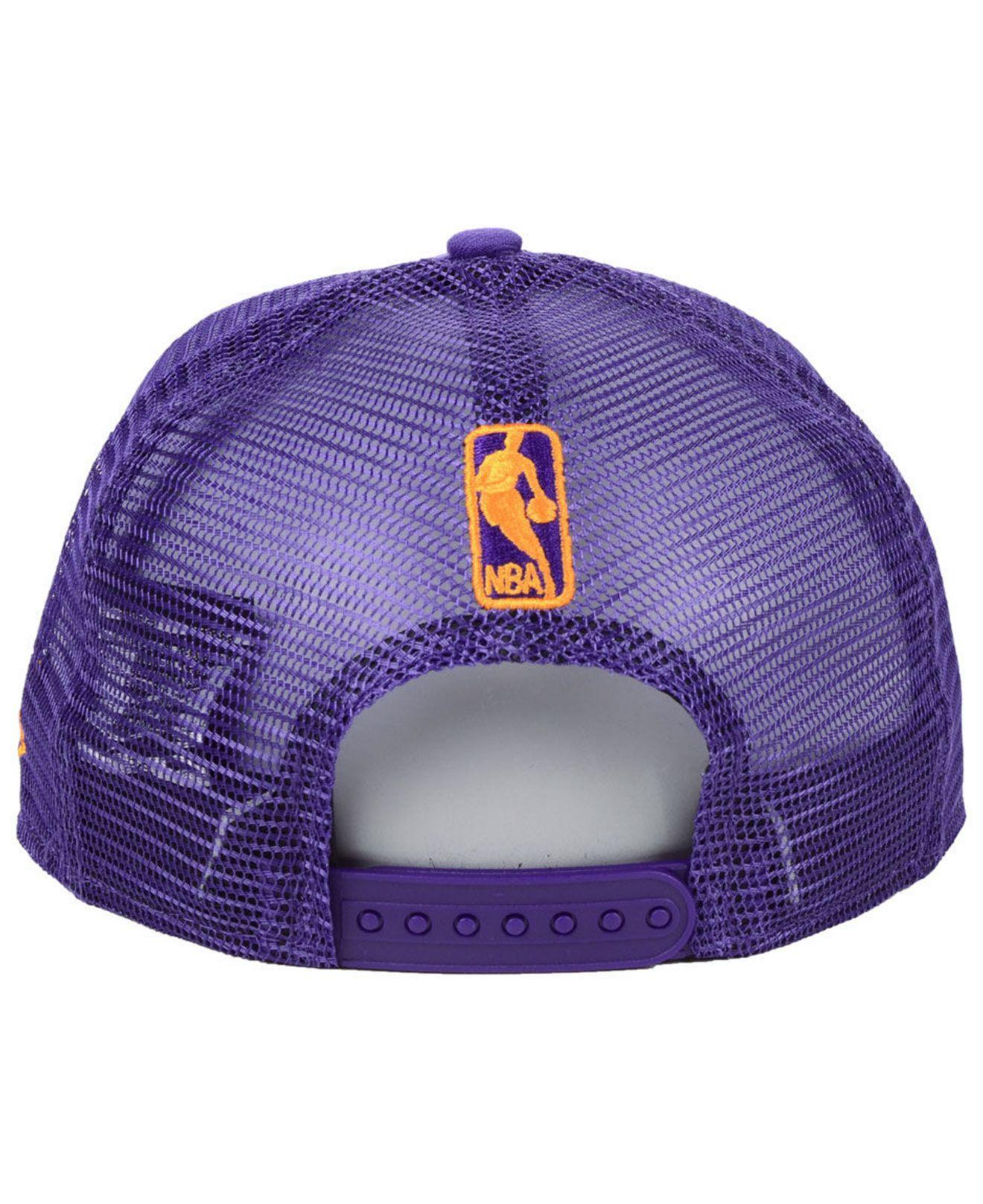 new style 6c081 3d0ce KTZ - Purple Phoenix Suns Nothing But Net 9fifty Snapback Cap for Men - Lyst.  View fullscreen