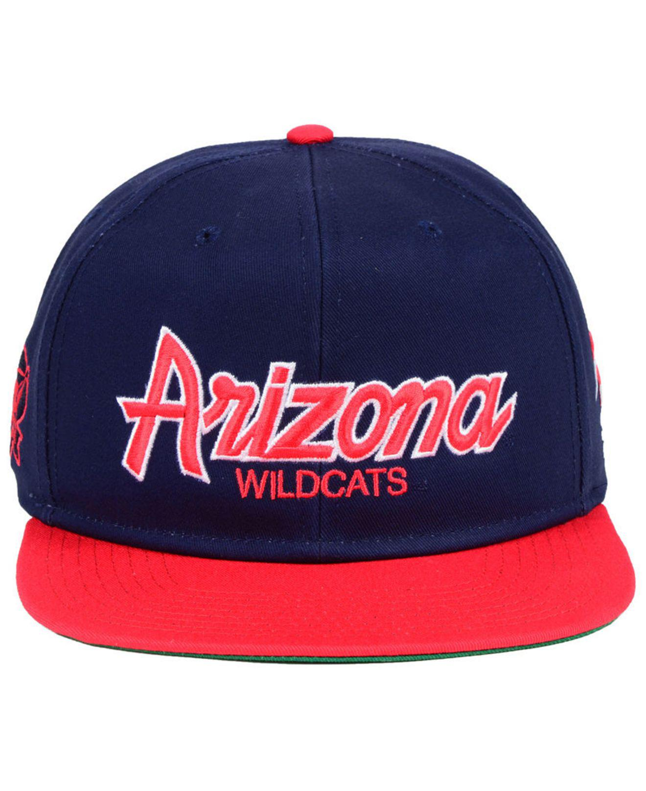 06ab058217c ... hat adjustable cap 19b0a 5d583 promo code for lyst nike arizona  wildcats sport specialties snapback cap in blue for men 85f18 ...