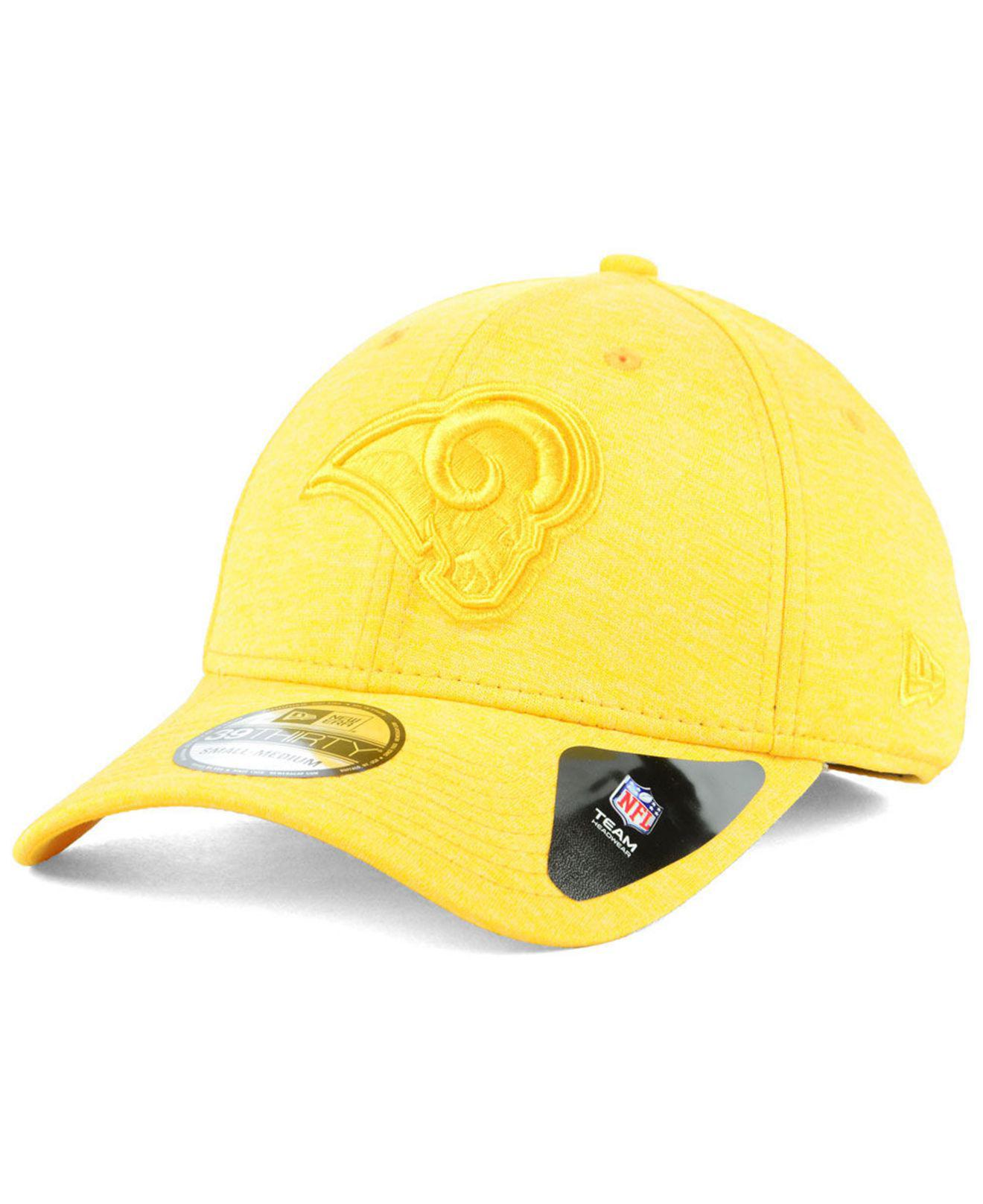 KTZ - Yellow Los Angeles Rams Tonal Heat 39thirty Cap for Men - Lyst. View  fullscreen 9806a2921
