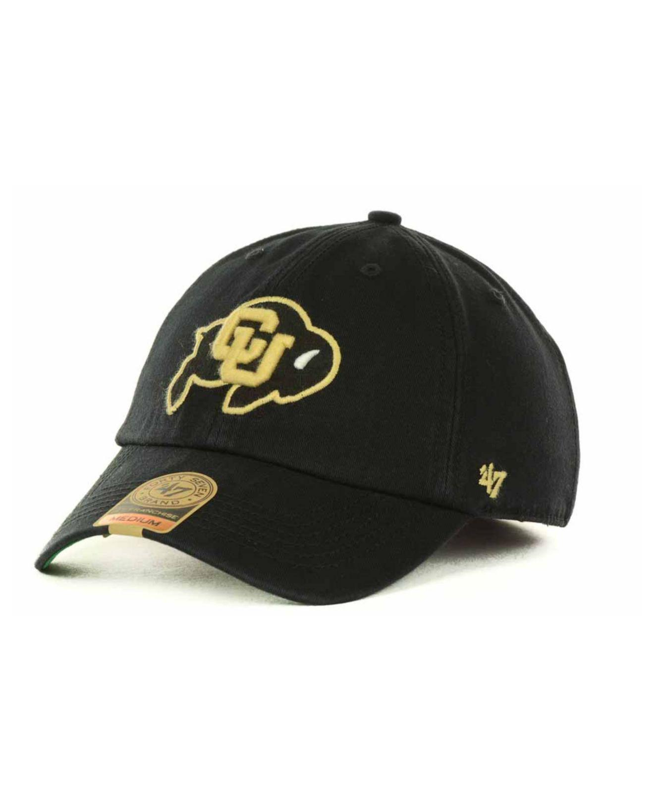 buy online 94de8 42340 47 Brand. Men s Black Colorado Buffaloes Franchise Cap