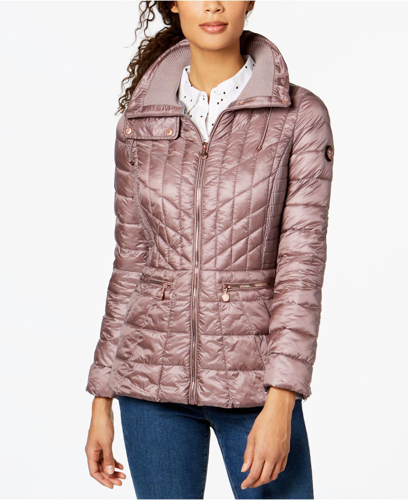 d26e92d0b8f Bernardo. Women s Quilted Packable Puffer Coat