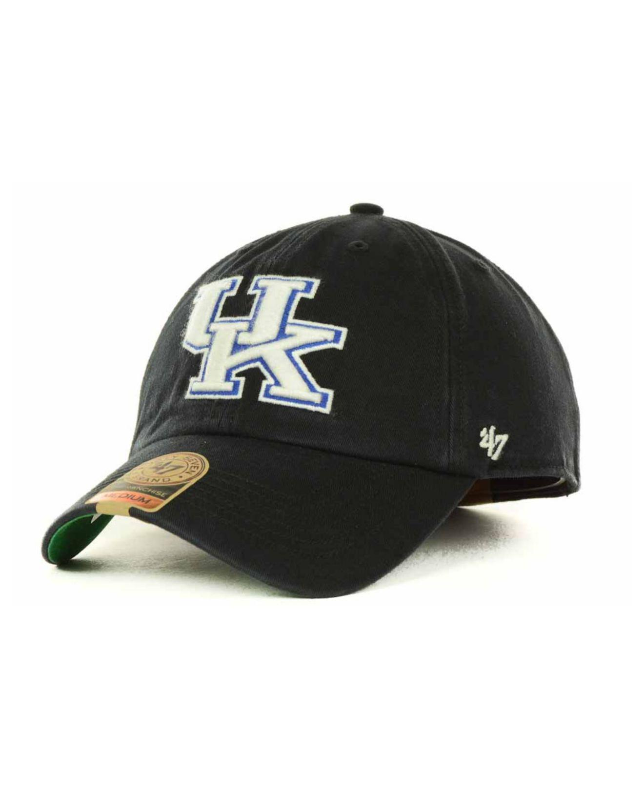 new products c8bf6 fbef5 47 Brand. Men s Black Kentucky Wildcats Franchise Cap