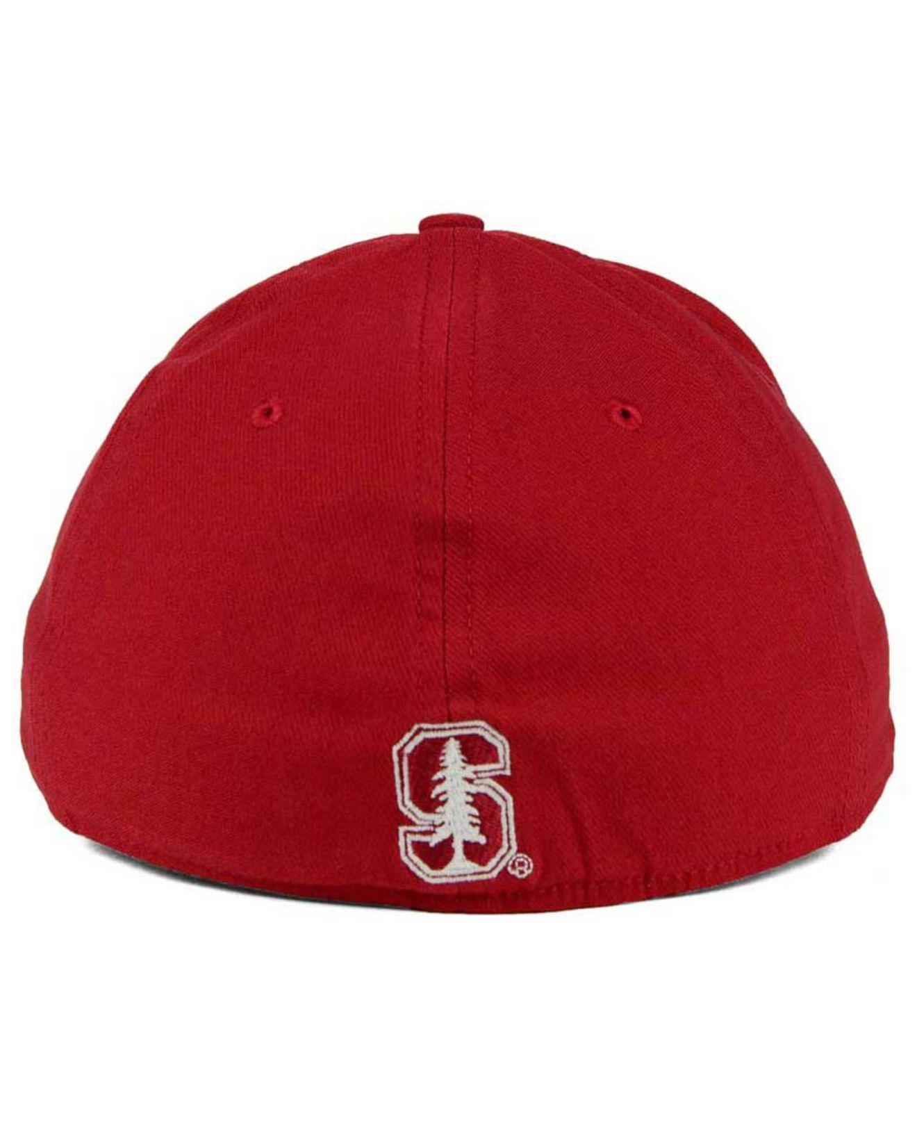 hot sale online f7175 d85c0 Nike - Red Stanford Cardinal Classic Swoosh Cap for Men - Lyst. View  fullscreen