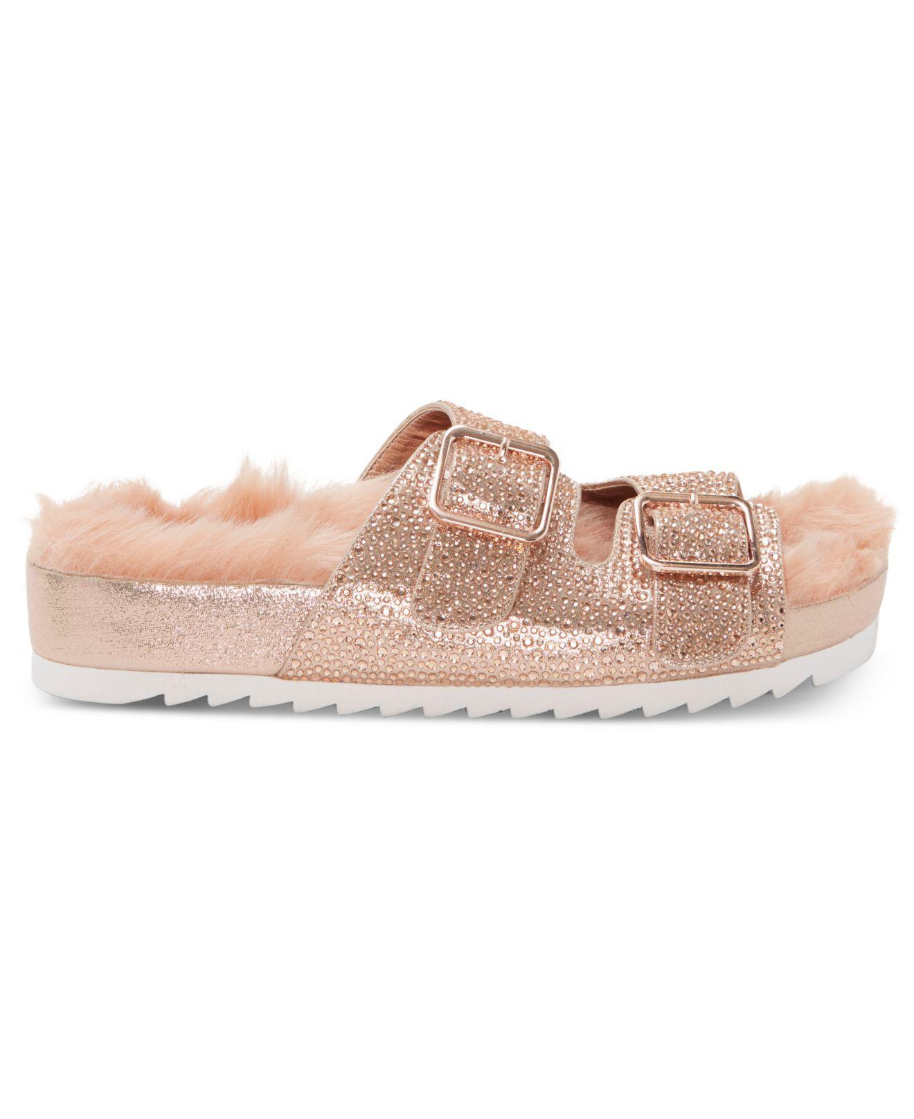 310f434a2a4cd1 Lyst - Inc International Concepts Alani Footbed Flat Sandals ...