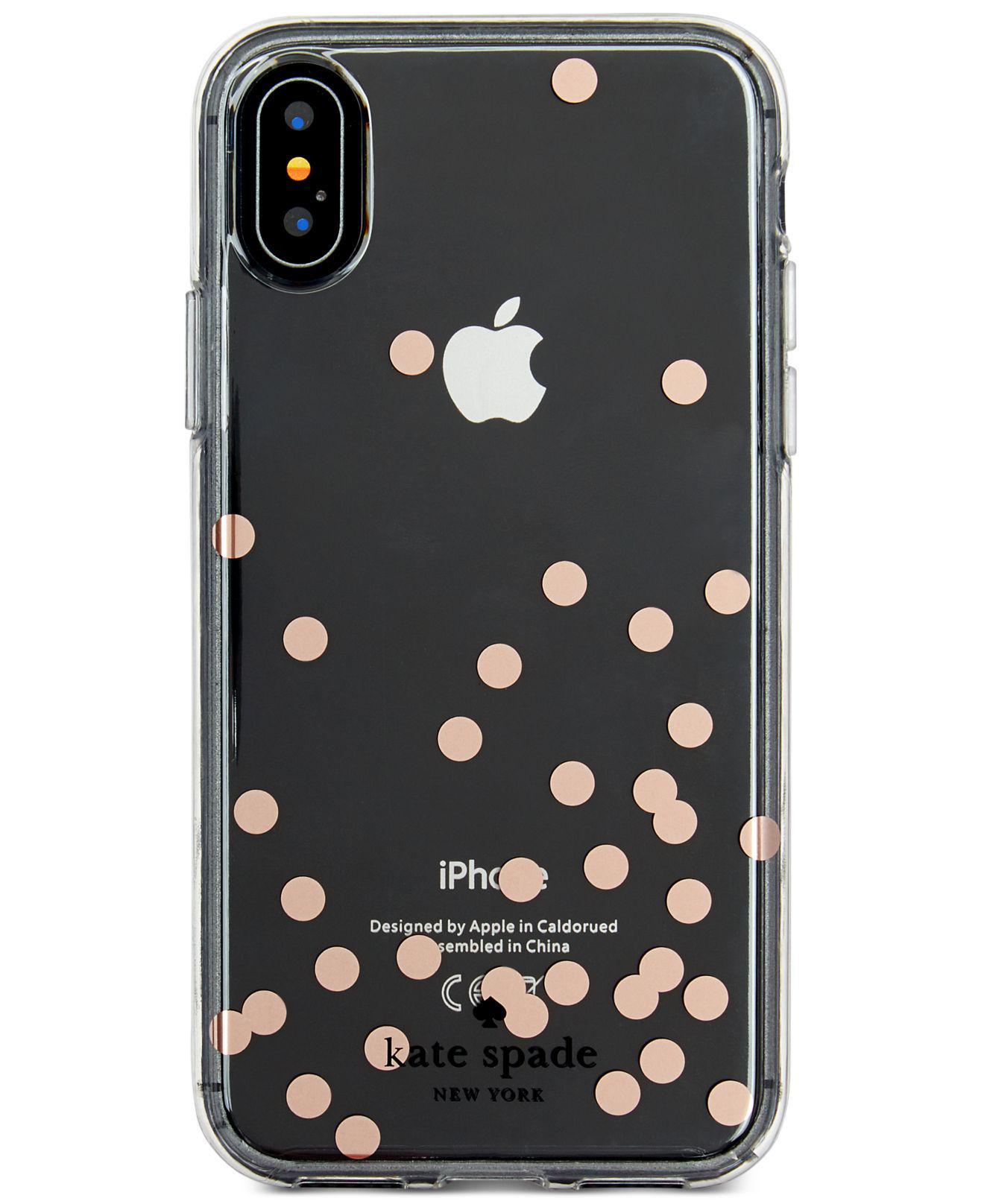 Kate Spade. Women's Confetti Foil Iphone X Case
