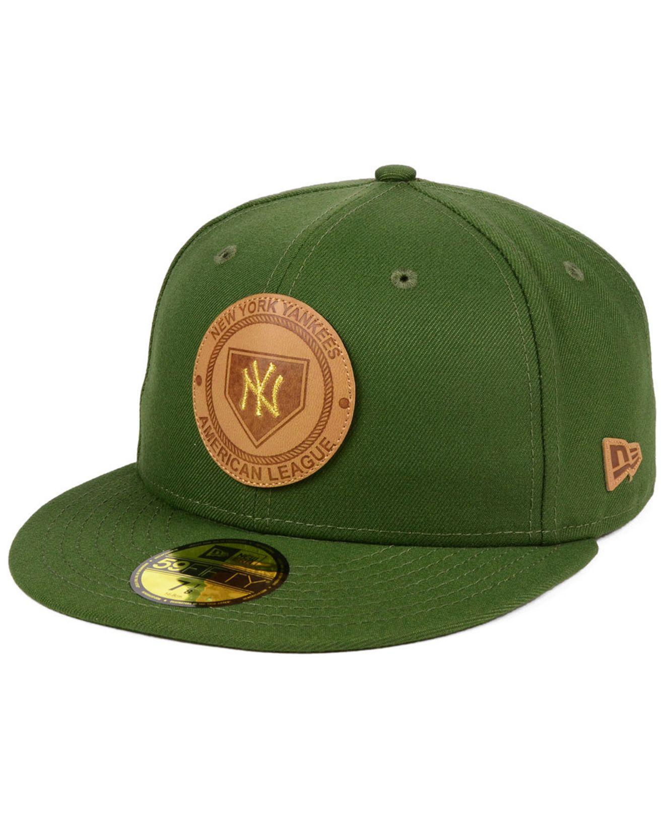 buy online cced9 b7cd8 Lyst - KTZ Vintage Olive 59fifty Cap in Green for Men