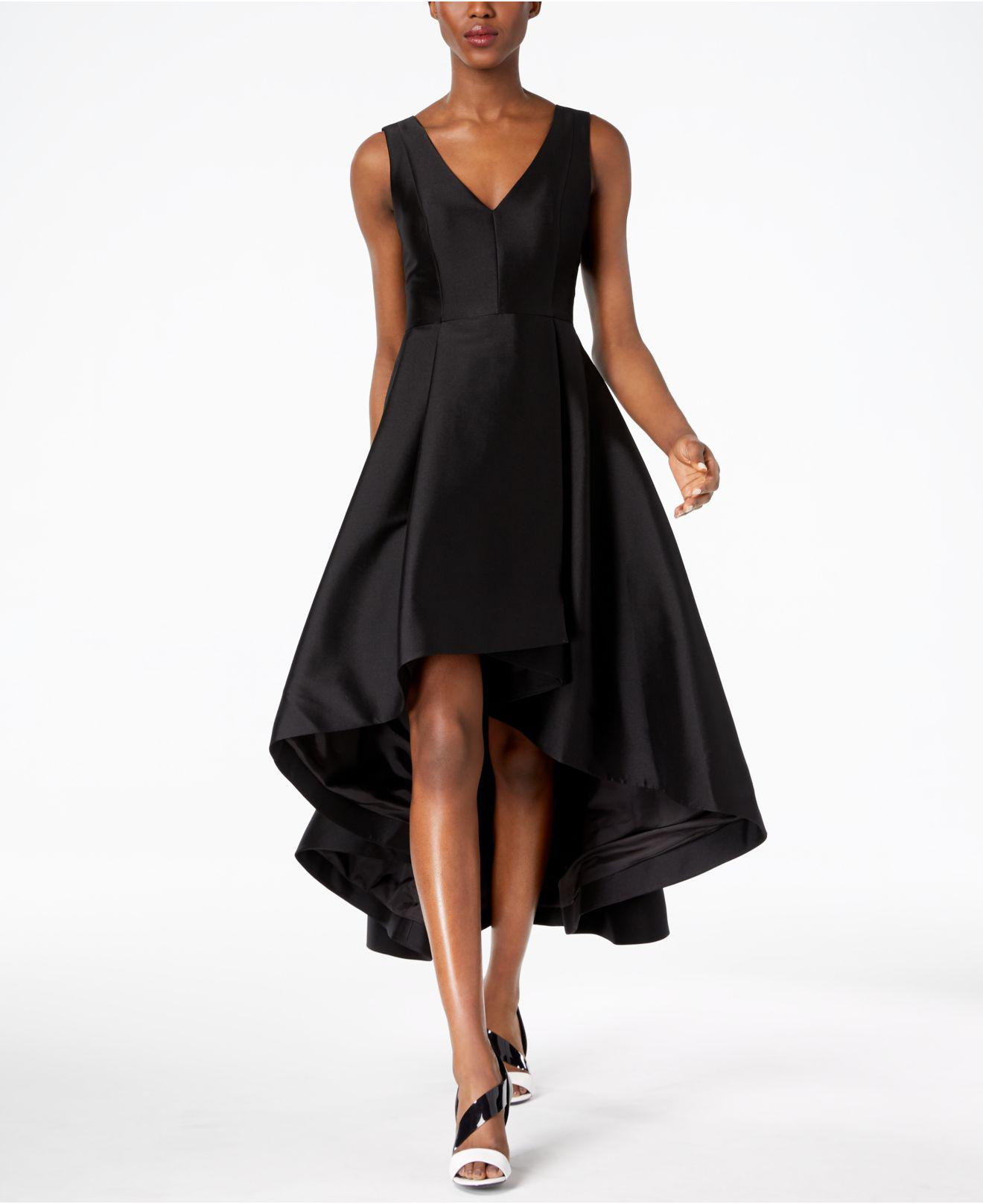 f26caef1bc Lyst - Calvin Klein High-low A-line Gown in Black - Save 50%