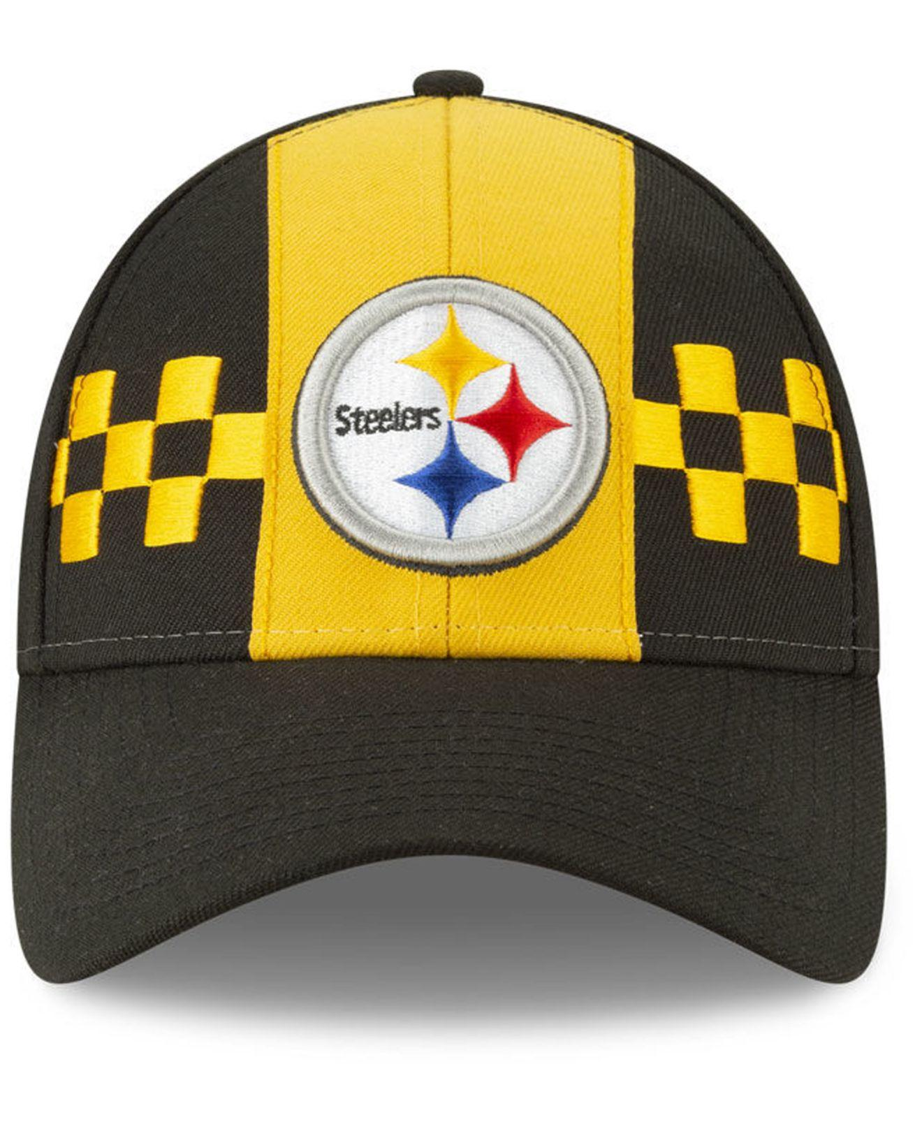 1e63c1cbc7495c Lyst - KTZ Pittsburgh Steelers Draft 9twenty Strapback Cap in Yellow