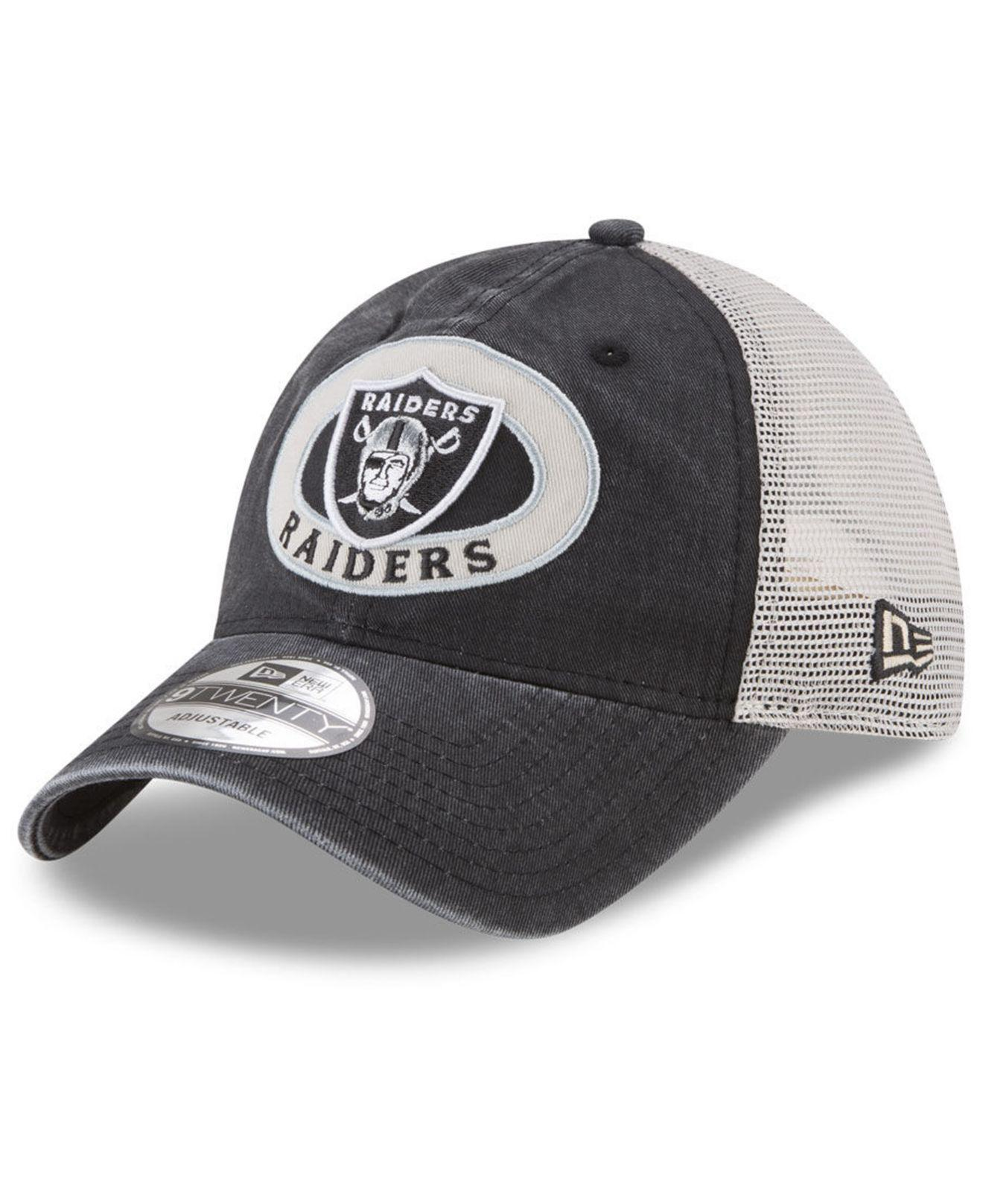 Lyst - Ktz Oakland Raiders Patched Pride 9twenty Cap in Black for Men 0668752c4a01