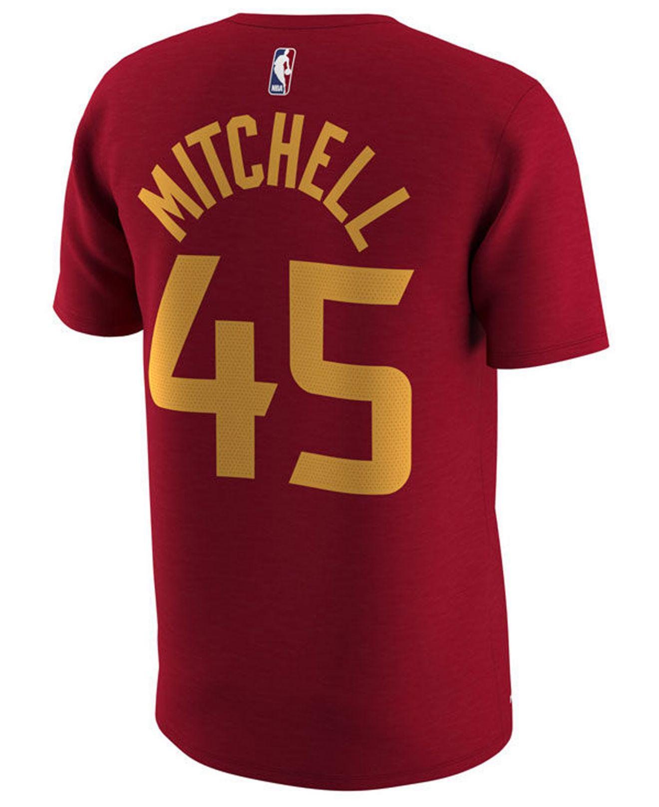 145f30c2c Nike Donovan Mitchell Utah Jazz City Player T-shirt in Red for Men ...