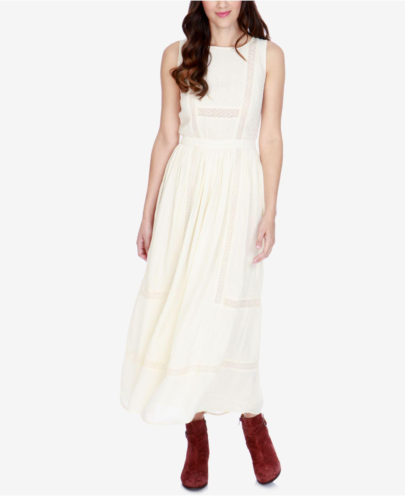 ae5399b2 Lucky Brand Bohemian Maxi Dress - raveitsafe