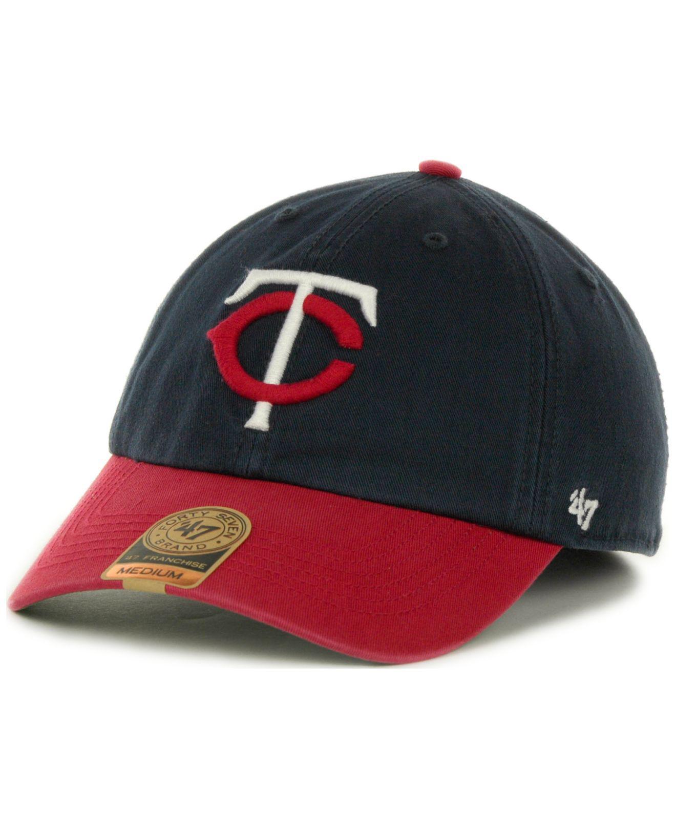 online retailer 1540c 859e2 ... italy lyst 47 brand minnesota twins 47 franchise cap for men 32104 20d9e