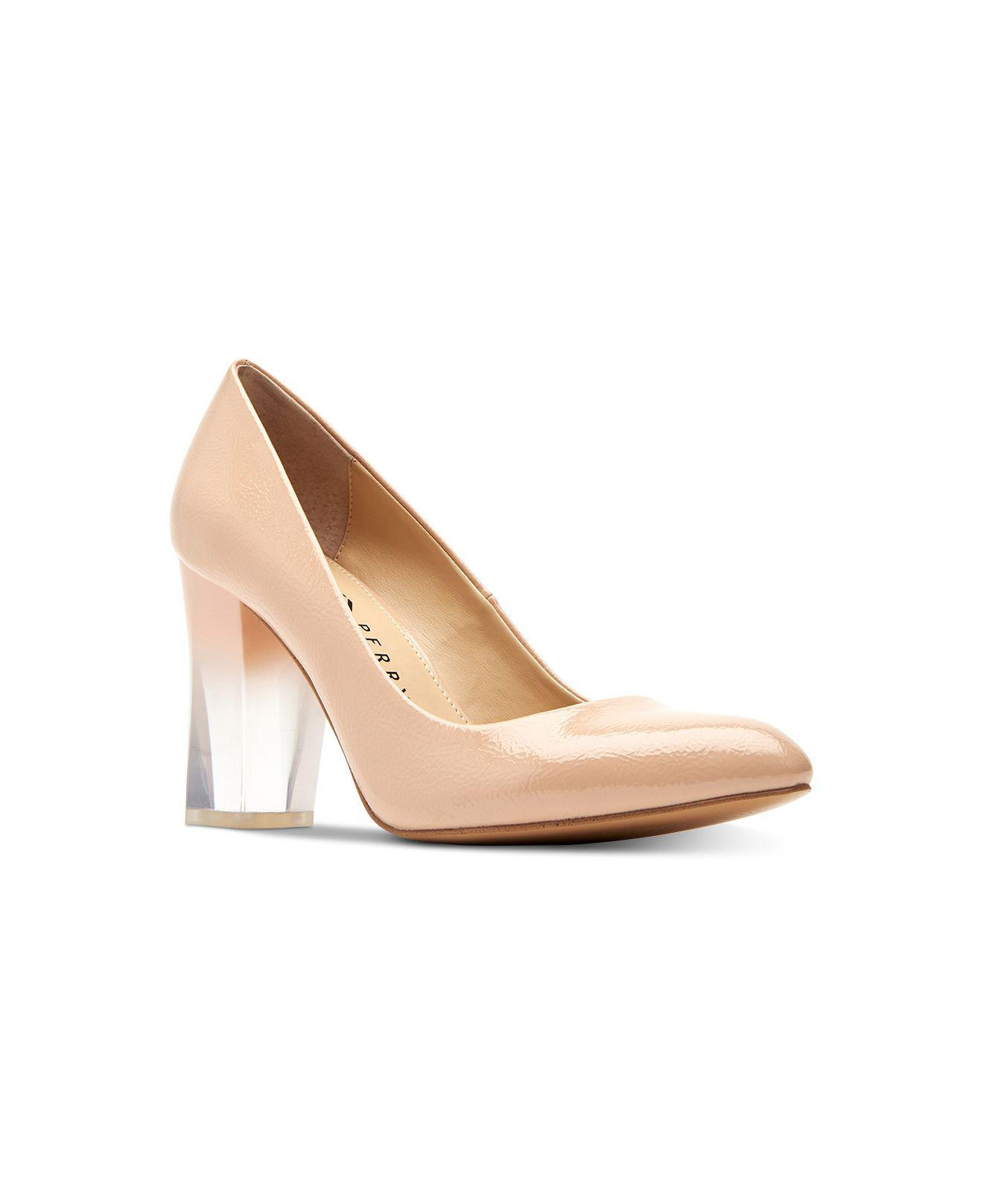 36eae5348b4 Lyst - Katy Perry The A.w. Ombré-lucite Pumps in Natural