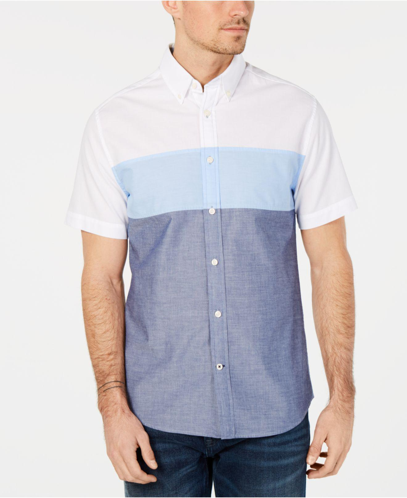 784537688ebd Lyst - Tommy Hilfiger Wainwright Triple Striped Shirt