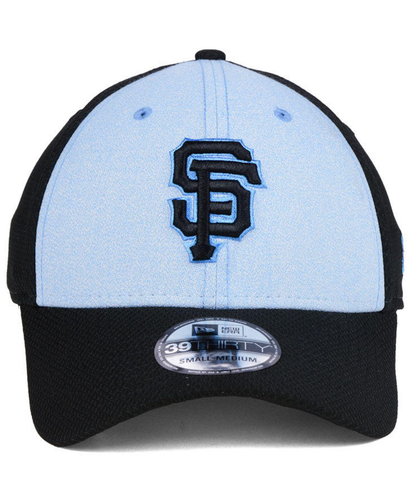 the best attitude 870a3 7f349 ... order lyst ktz san francisco giants fathers day 39thirty cap 2018 in  black for men a74ae